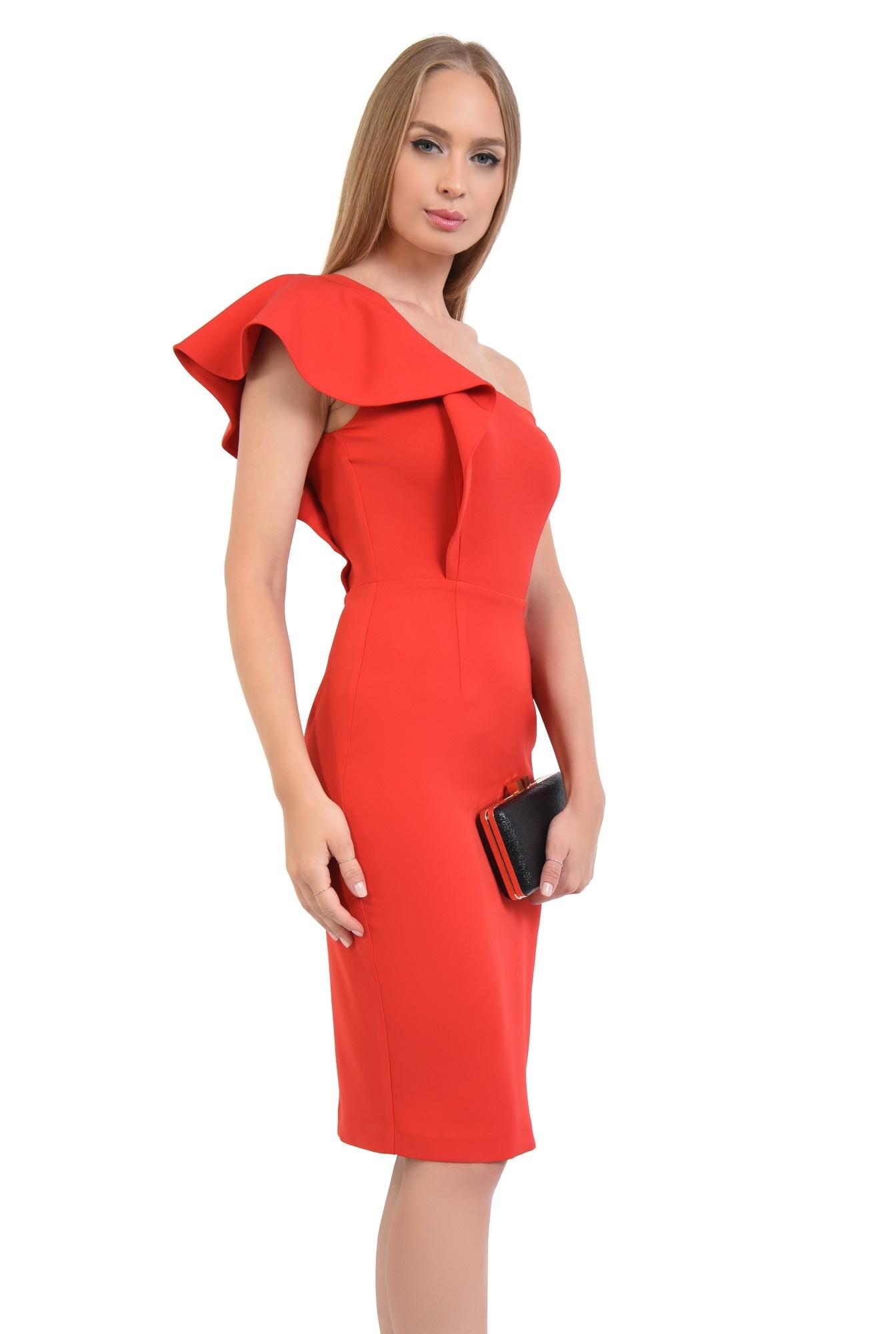 0 - rochie de ocazie, cambrata, slit la spate, rochii online