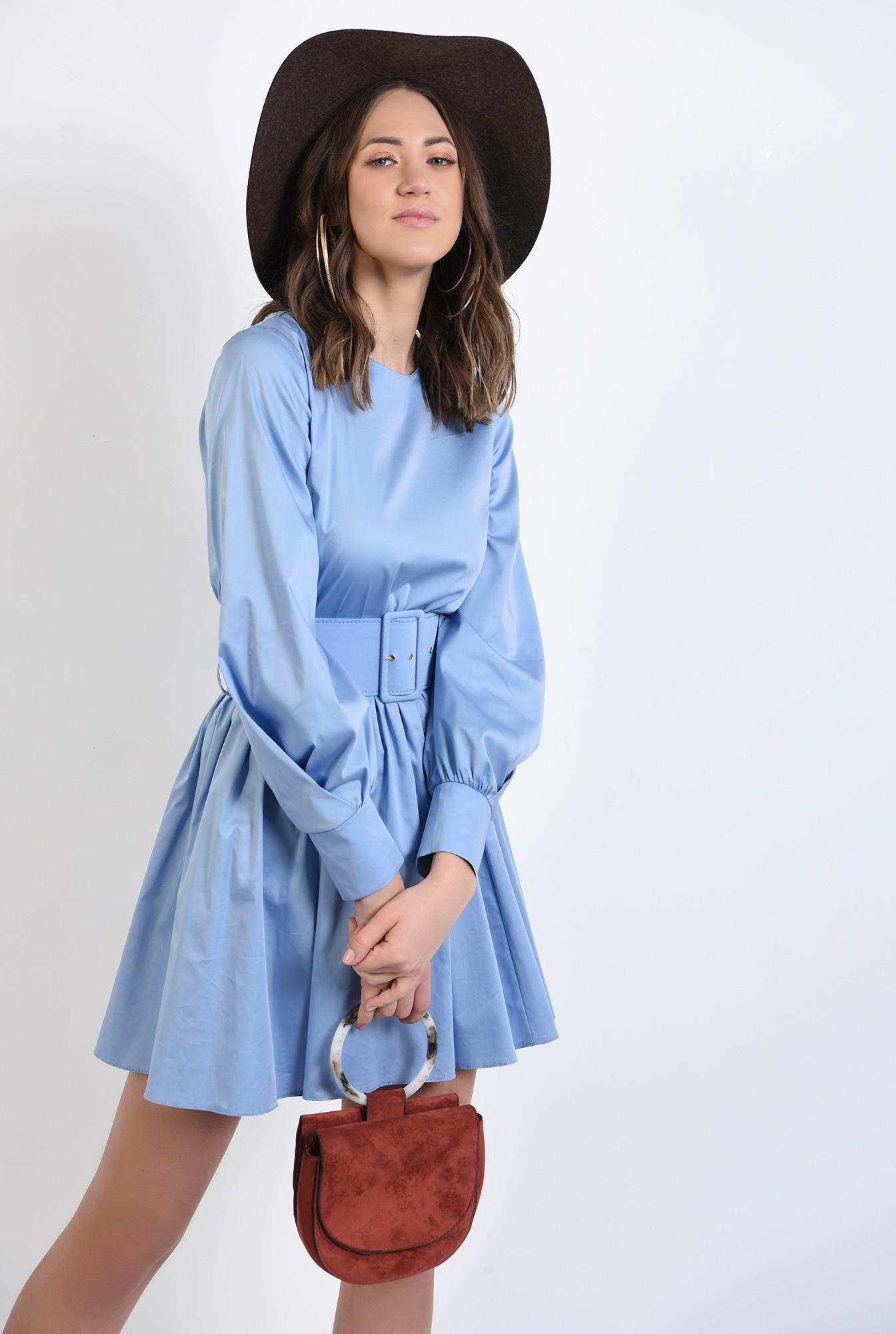0 - 360 - rochie de zi, din bumbac, clos, rochie de primavara