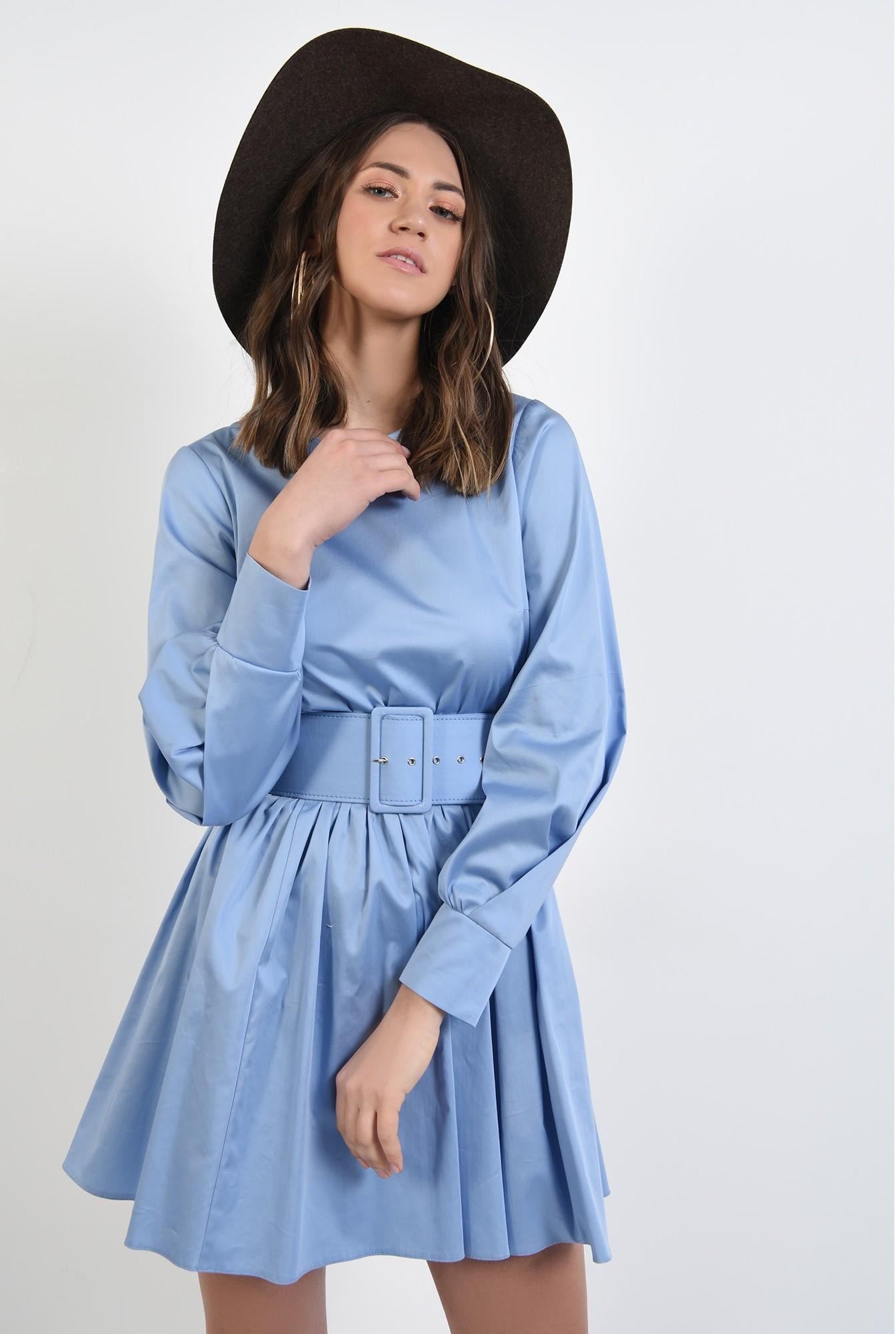 2 - 360 - rochie de zi, din bumbac, clos, rochie de primavara