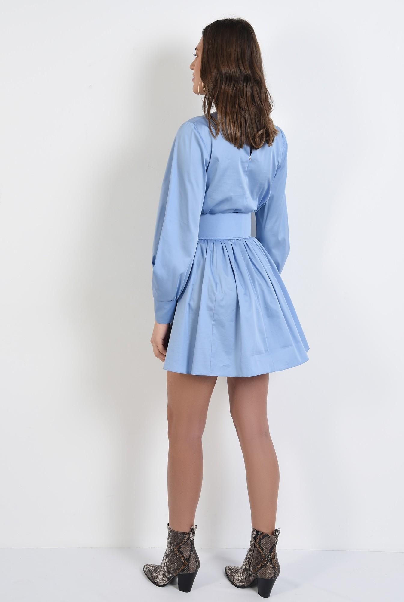 1 - 360 - rochie de zi, din bumbac, clos, rochie de primavara