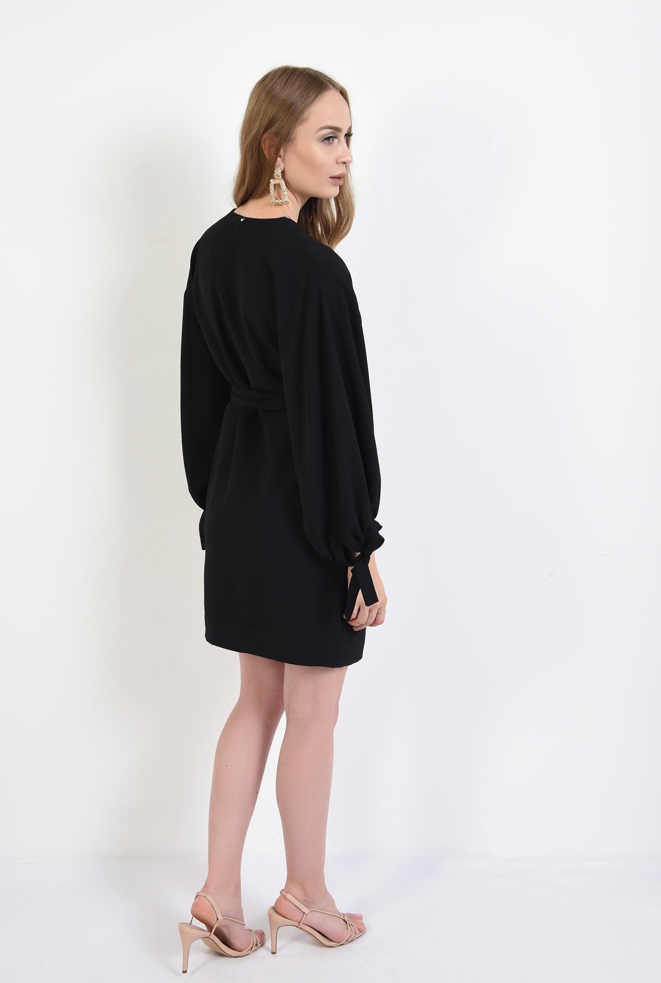 1 - 360 - rochie mini,neagra, Poema