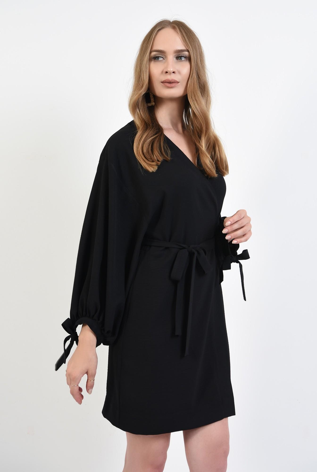 0 - 360 - rochie mini,neagra, Poema