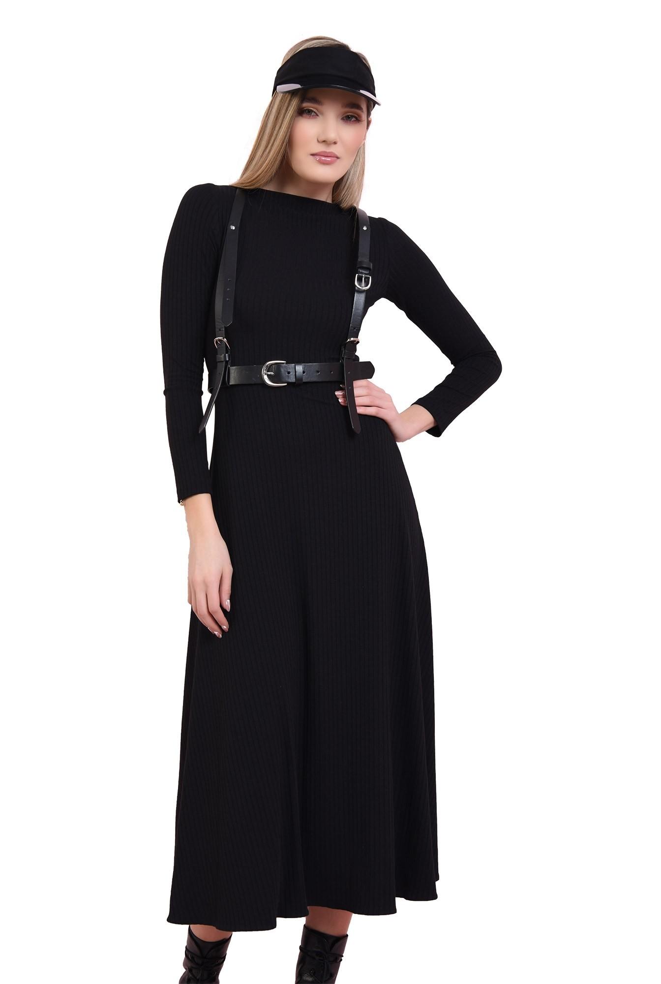 3 - rochie neagra, din jerse reiat, Poema