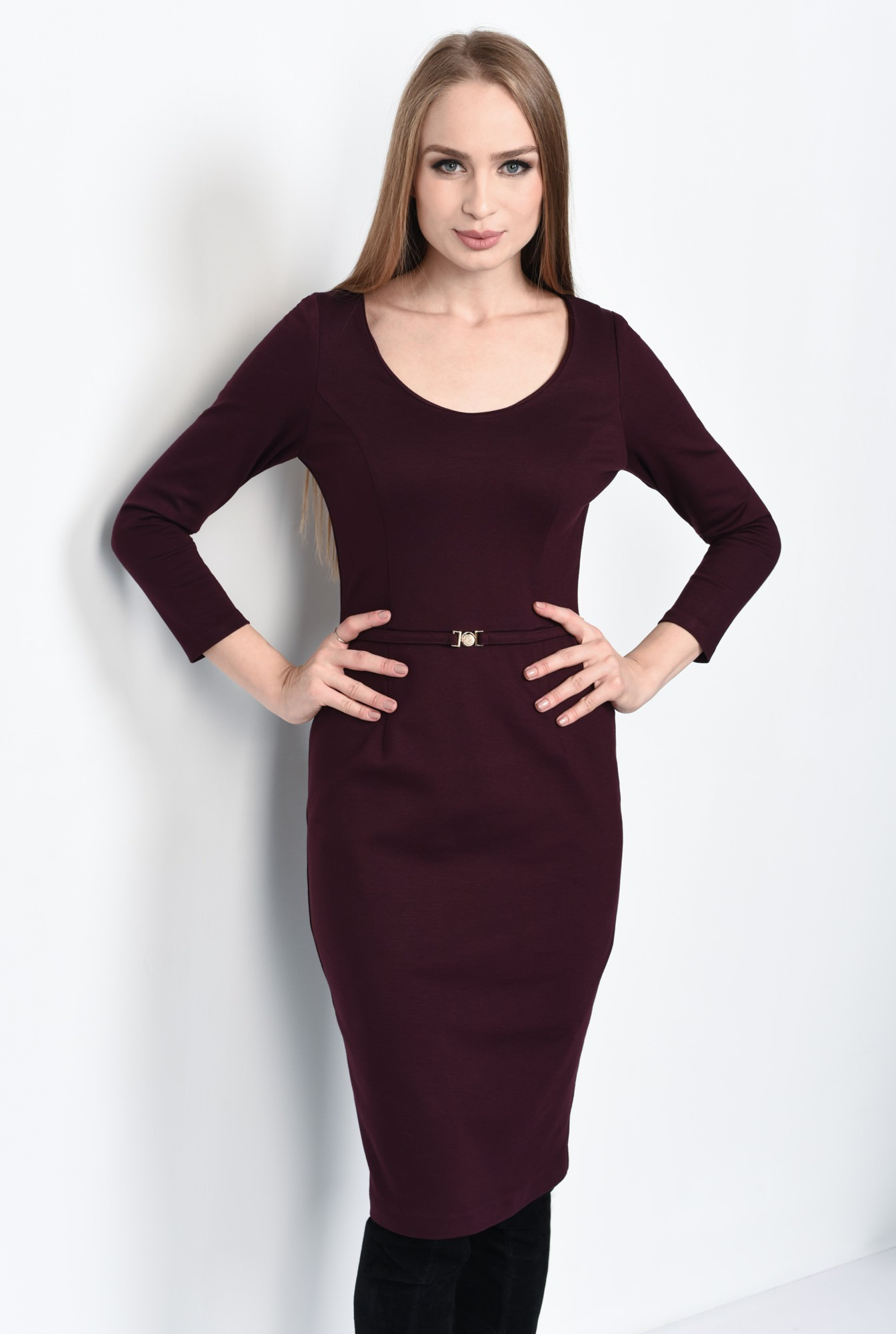 2 - ROCHIE OFFICE CONICA R 176-BURGUNDY