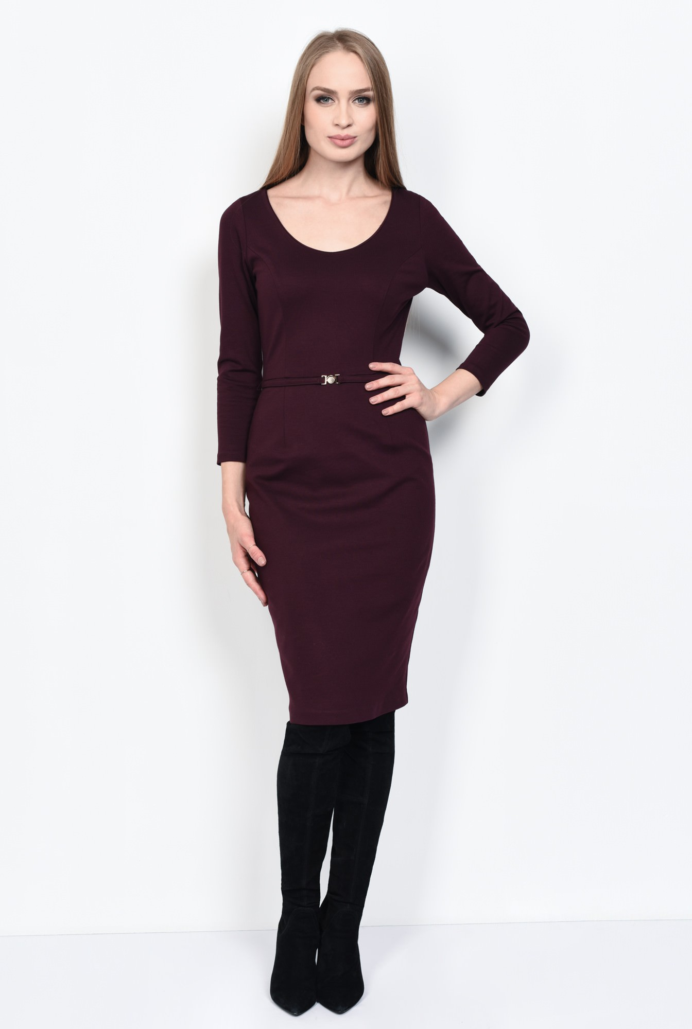 3 - ROCHIE OFFICE CONICA R 176-BURGUNDY