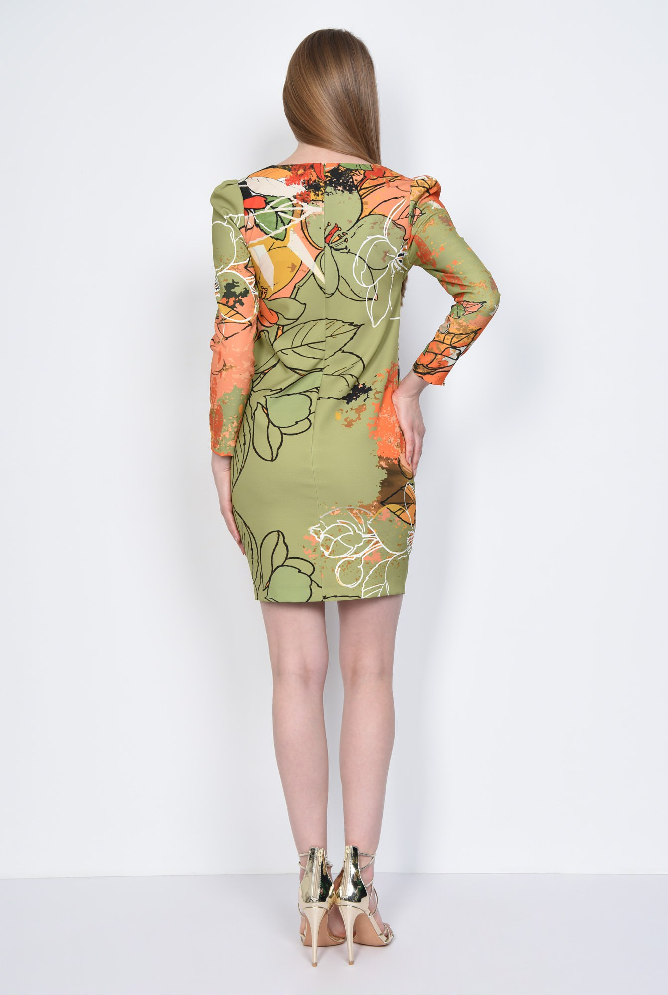 1 - ROCHIE CASUAL DREAPTA R 237-PRINT OLIVE