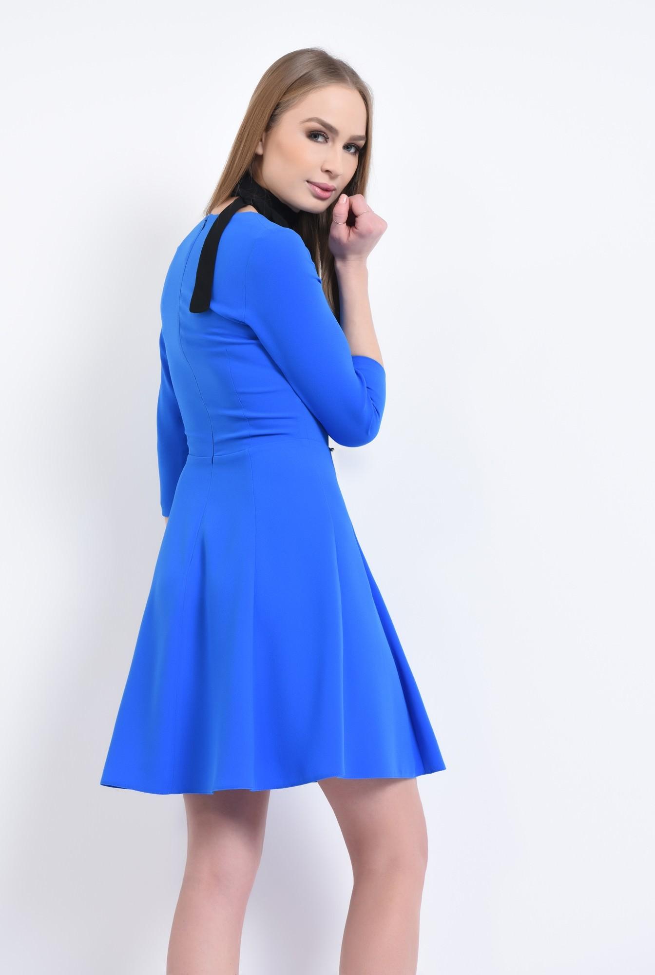 1 - Rochie de zi, albastru