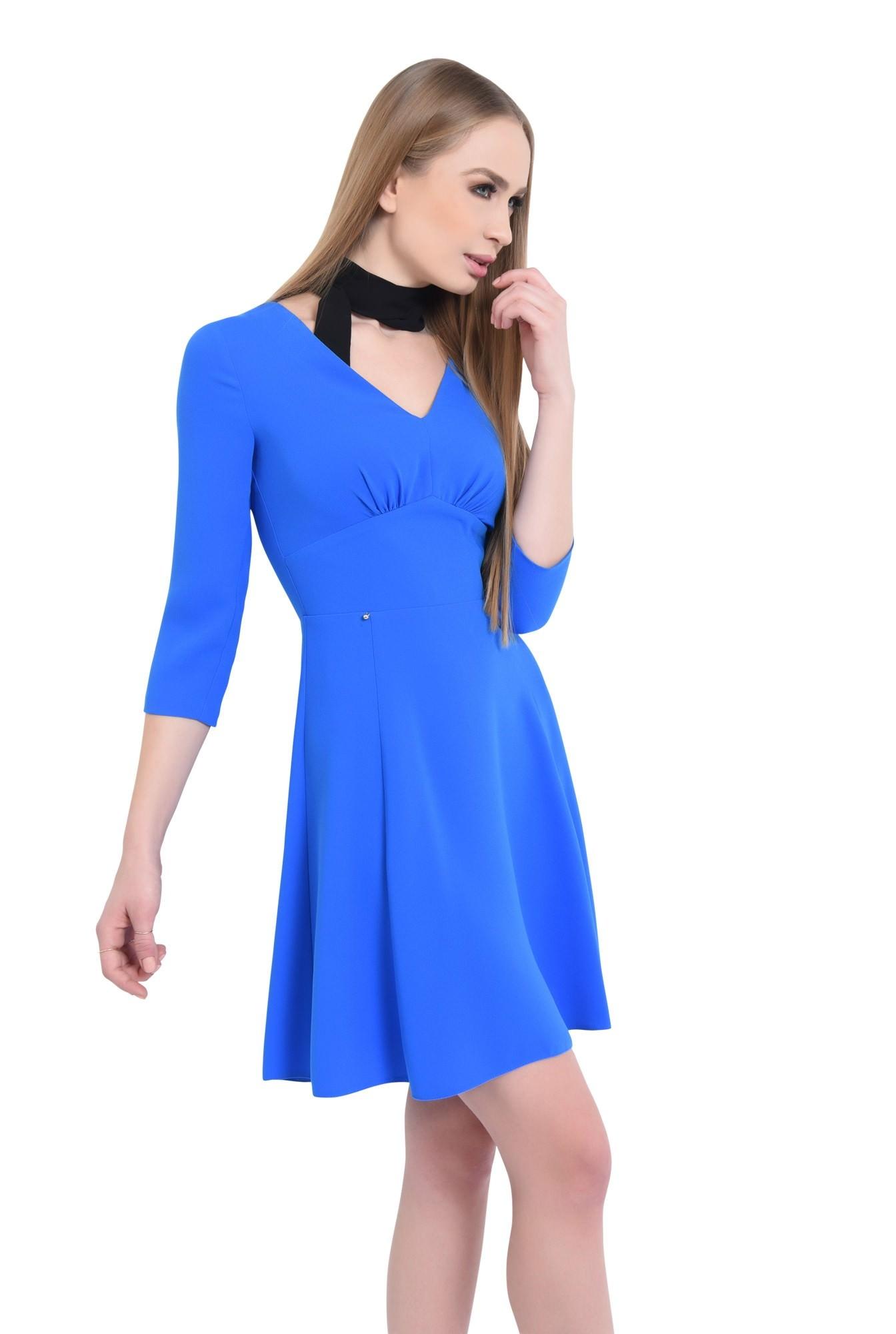 0 - Rochie de zi, albastru