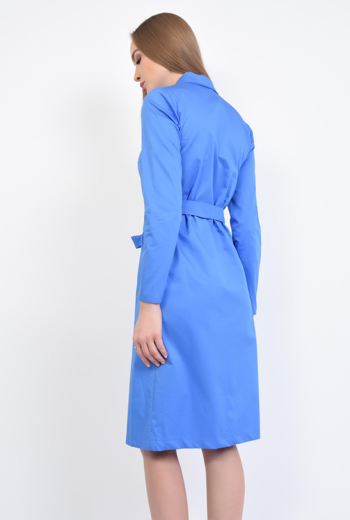 1 - Rochie casual, albastra