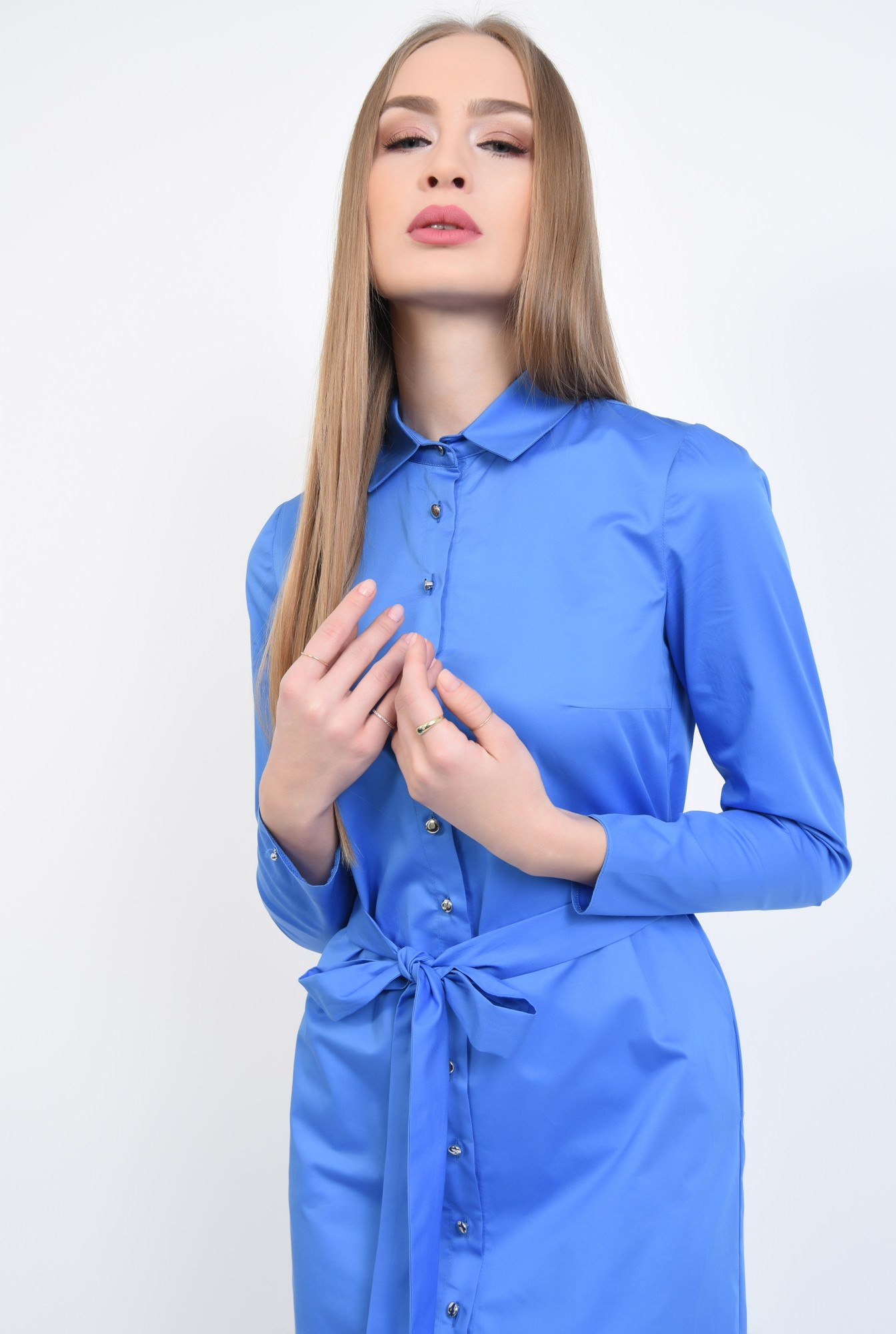 2 - Rochie casual, albastra