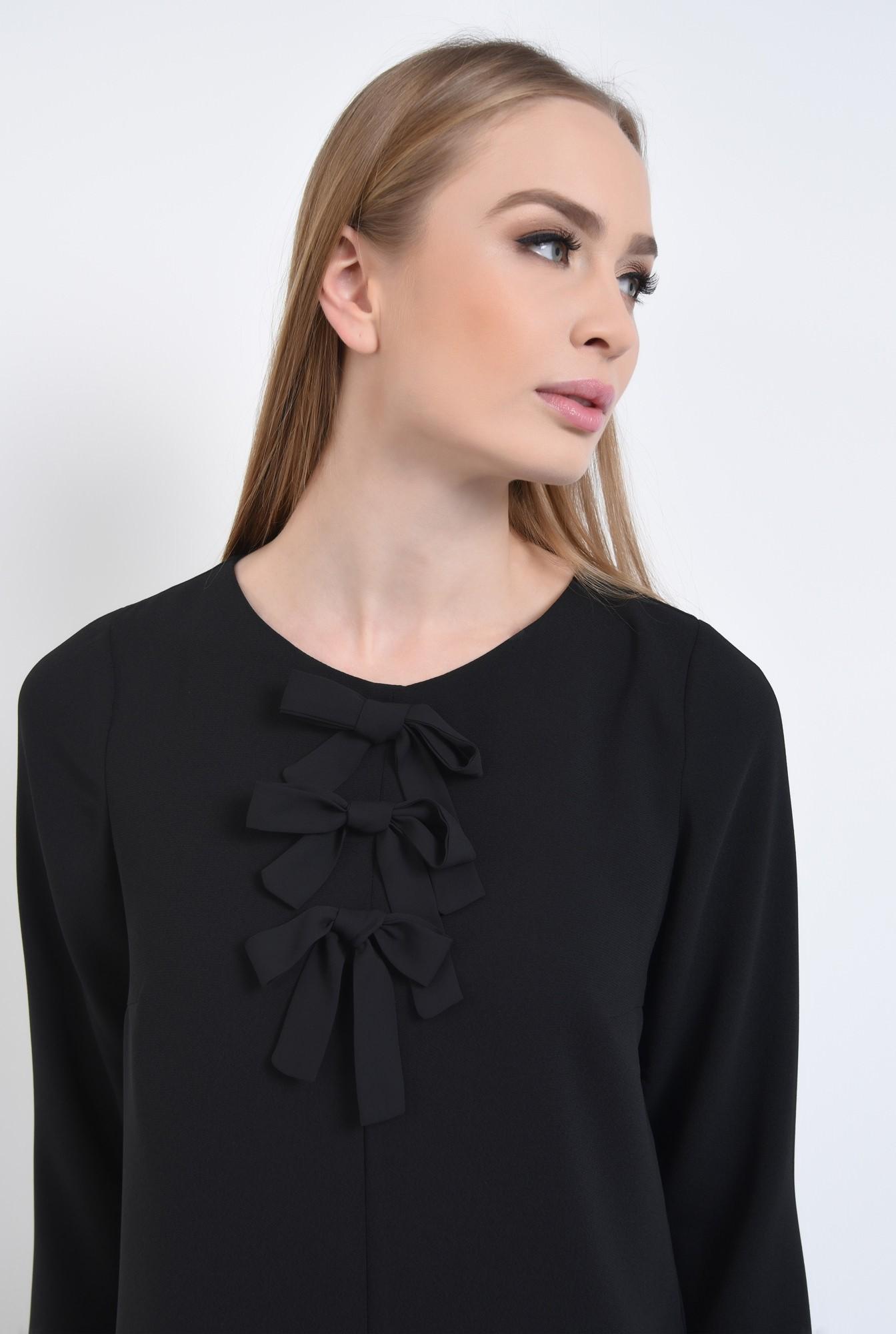2 - Rochie casual neagra, mini