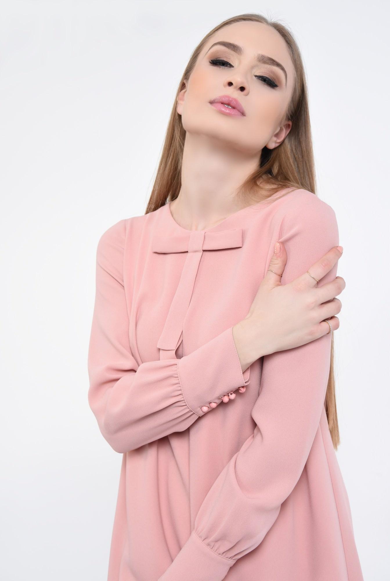 2 - Rochie de zi scurta, roz