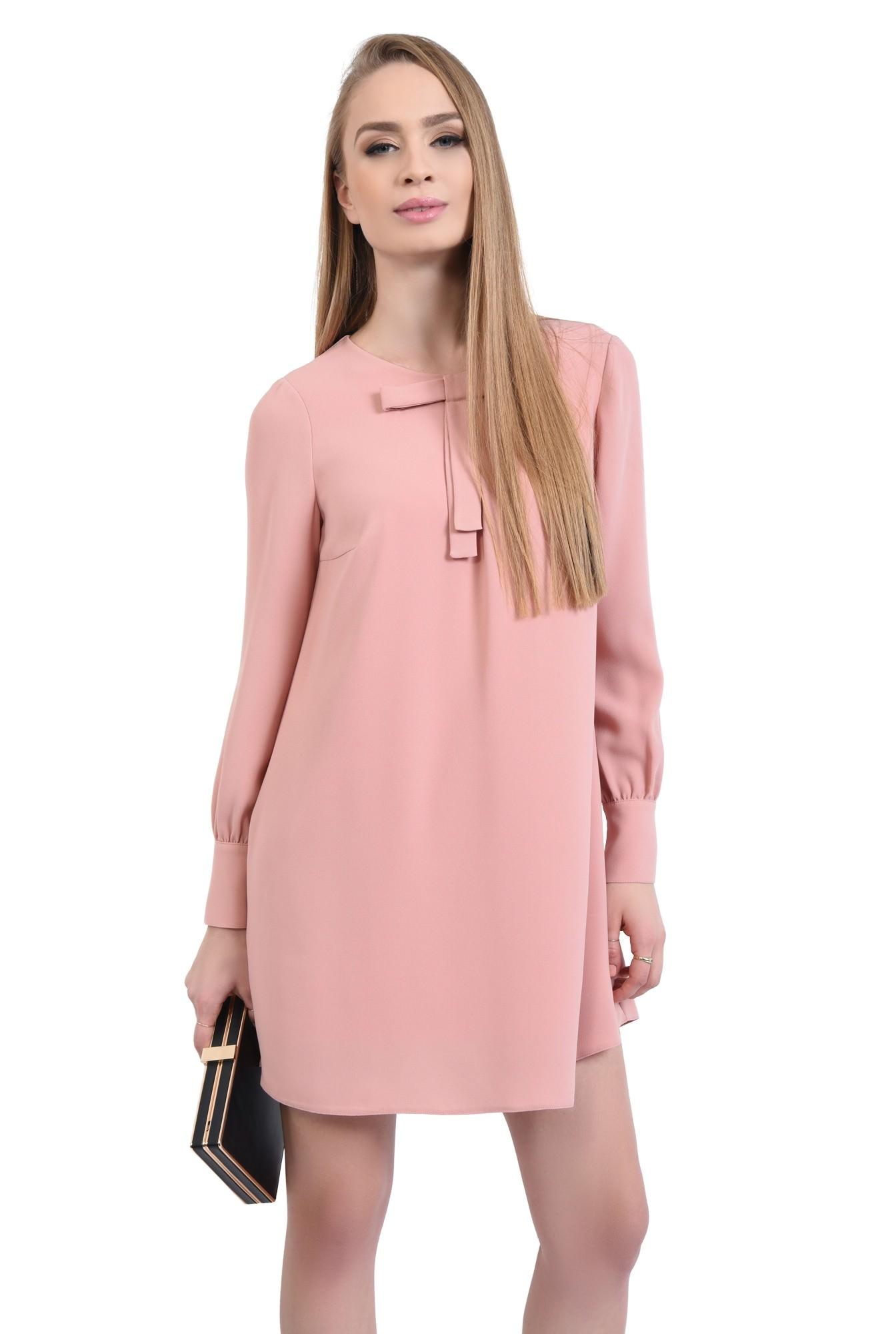 0 - Rochie de zi scurta, roz