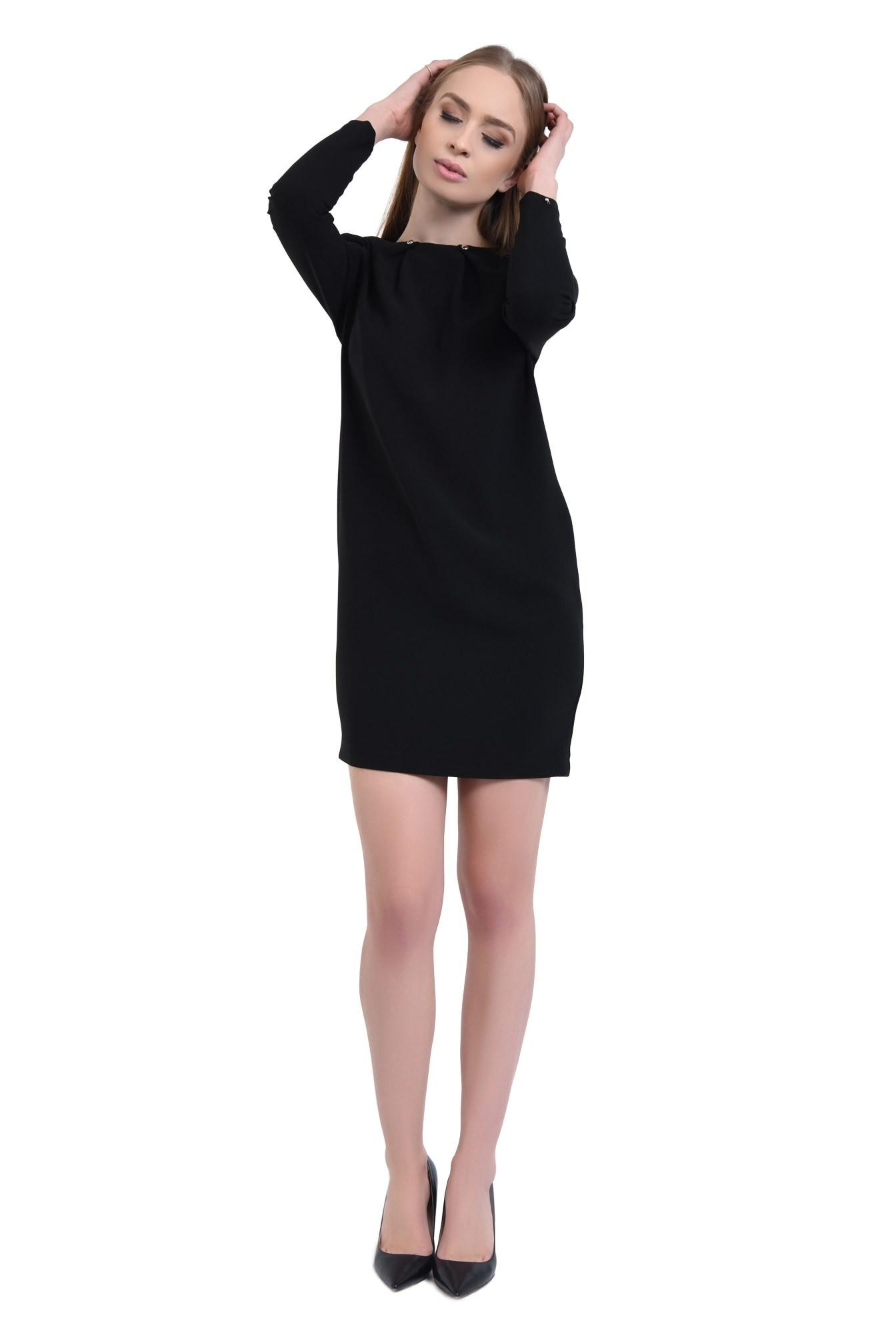 3 - 360 - Rochie eleganta, pliseuri