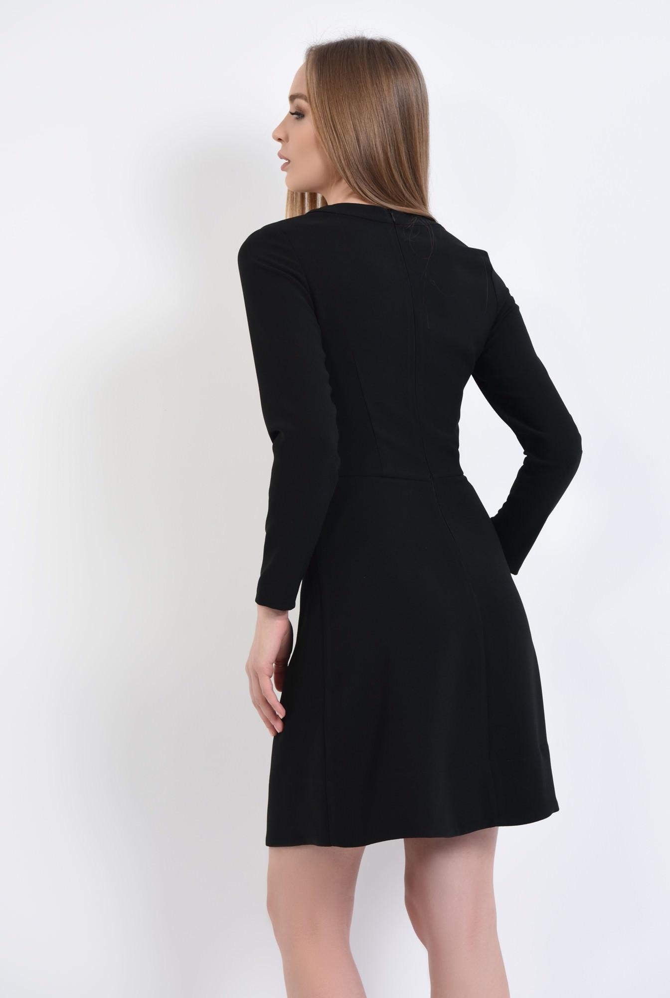 1 - rochie mini, croi A-line, talie cambrata, rochii online