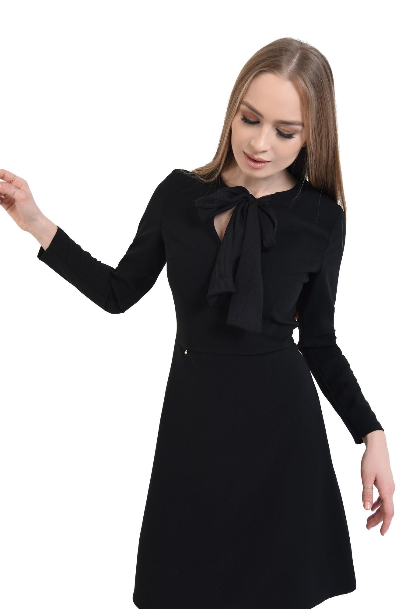 0 - rochie mini, croi A-line, talie cambrata, rochii online