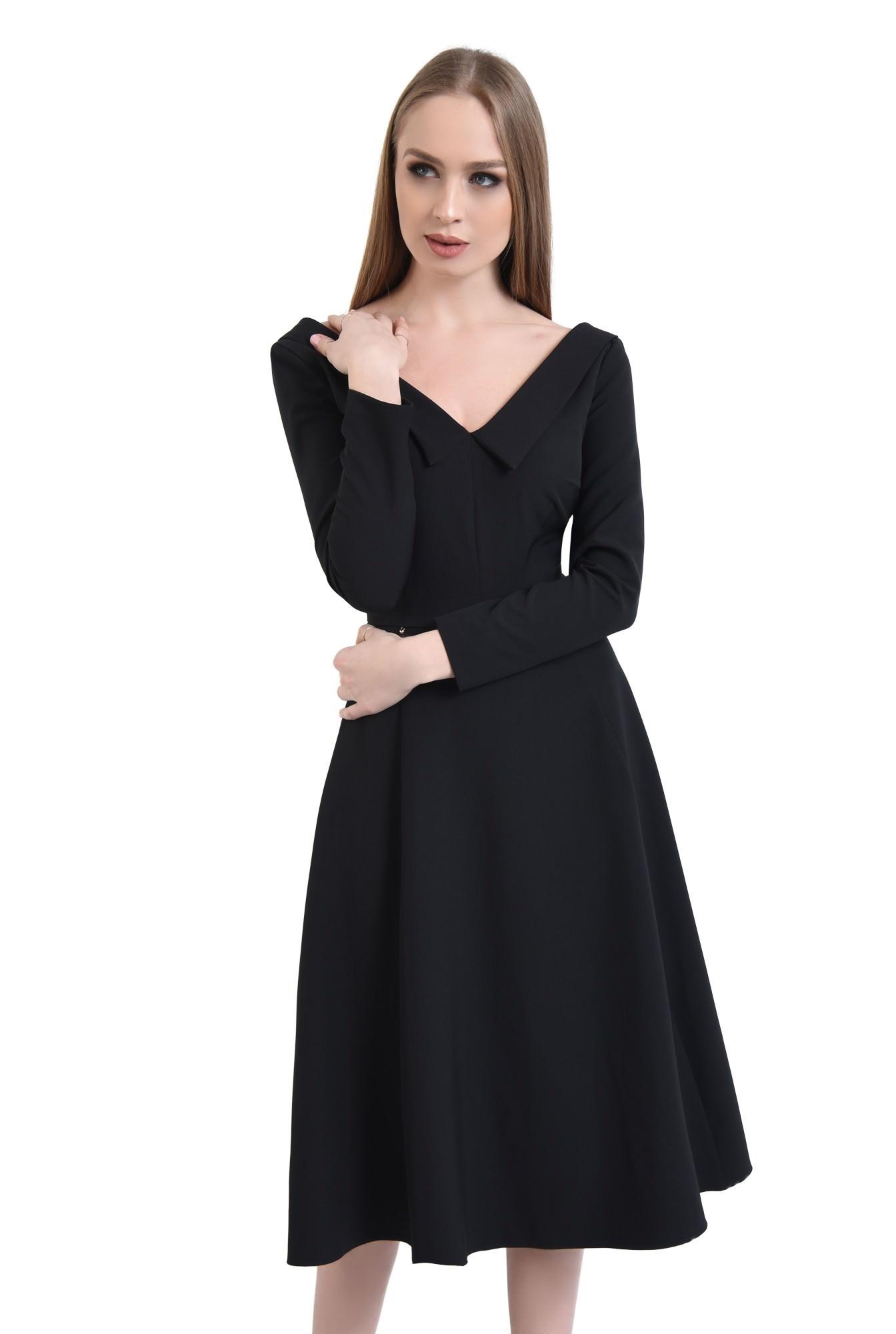 0 - Rochie eleganta, neagra