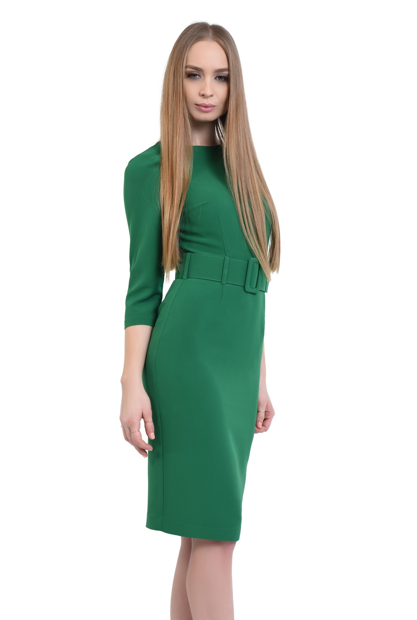 0 - Rochie casual, verde