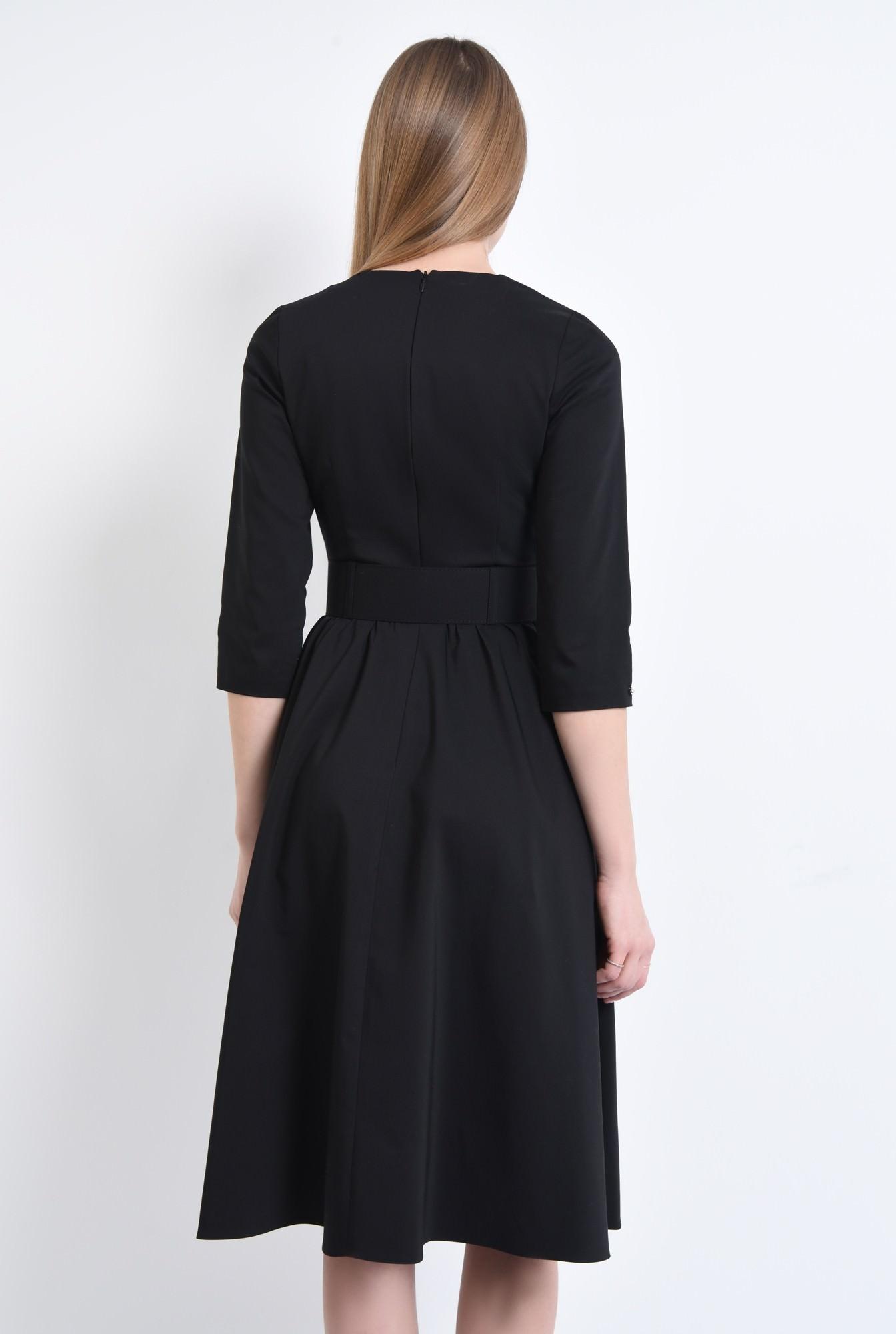 1 - 360 - Rochie casual, centura material textil