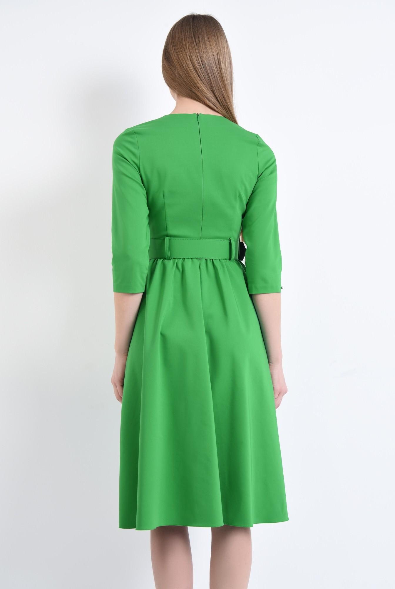 1 - Rochie casual, verde