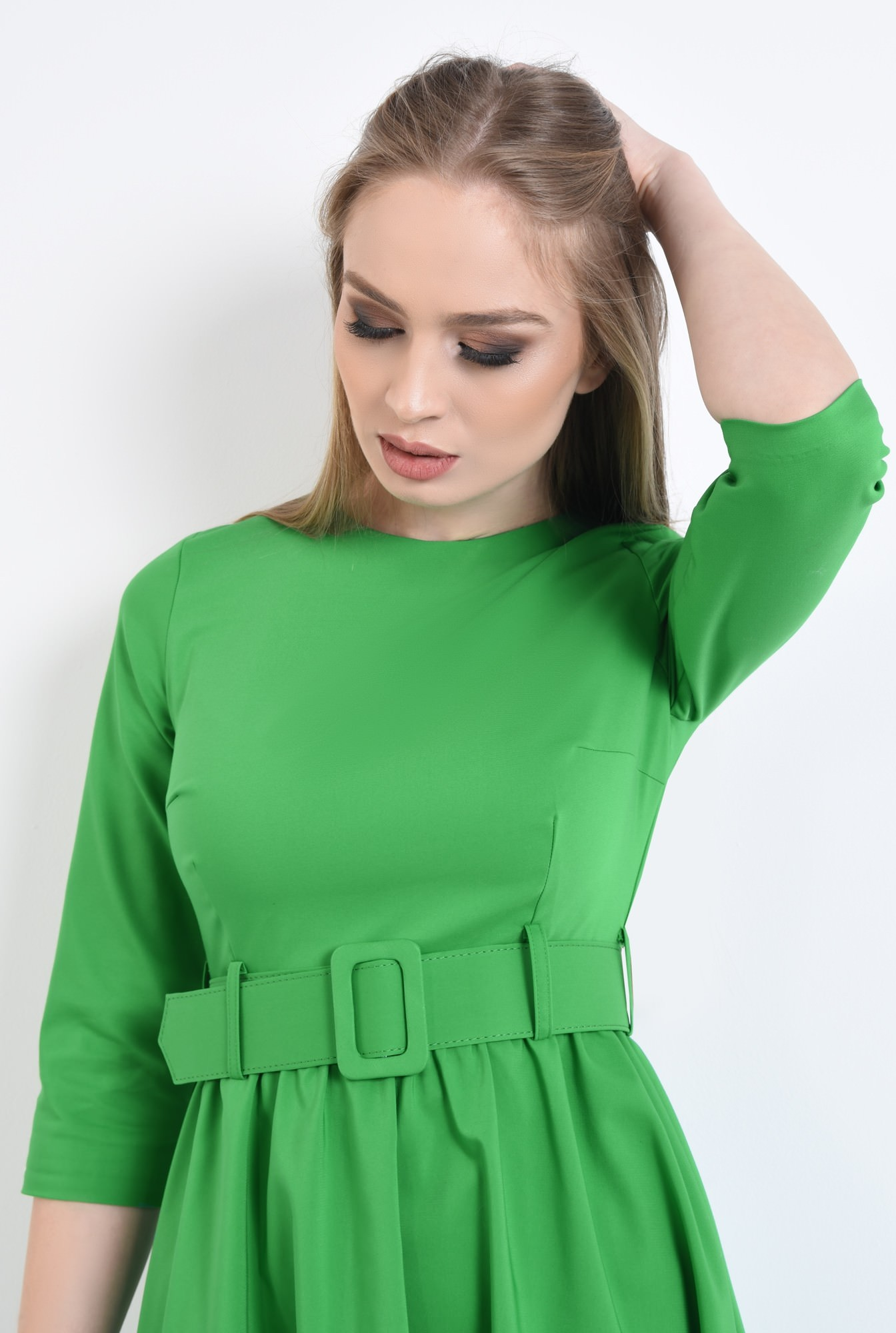 2 - Rochie casual, verde
