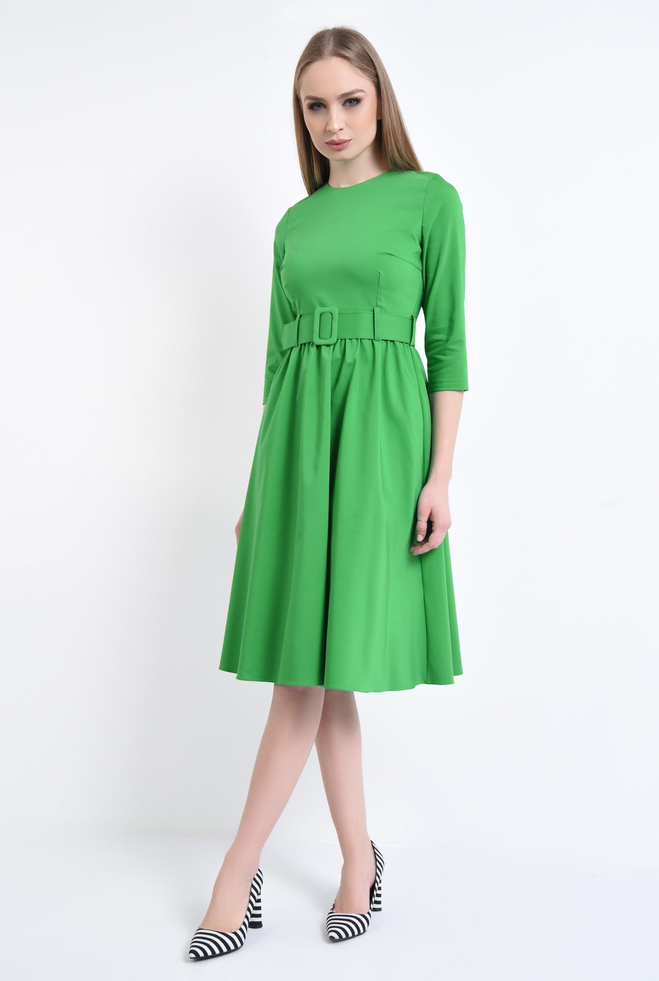 3 - Rochie casual, verde