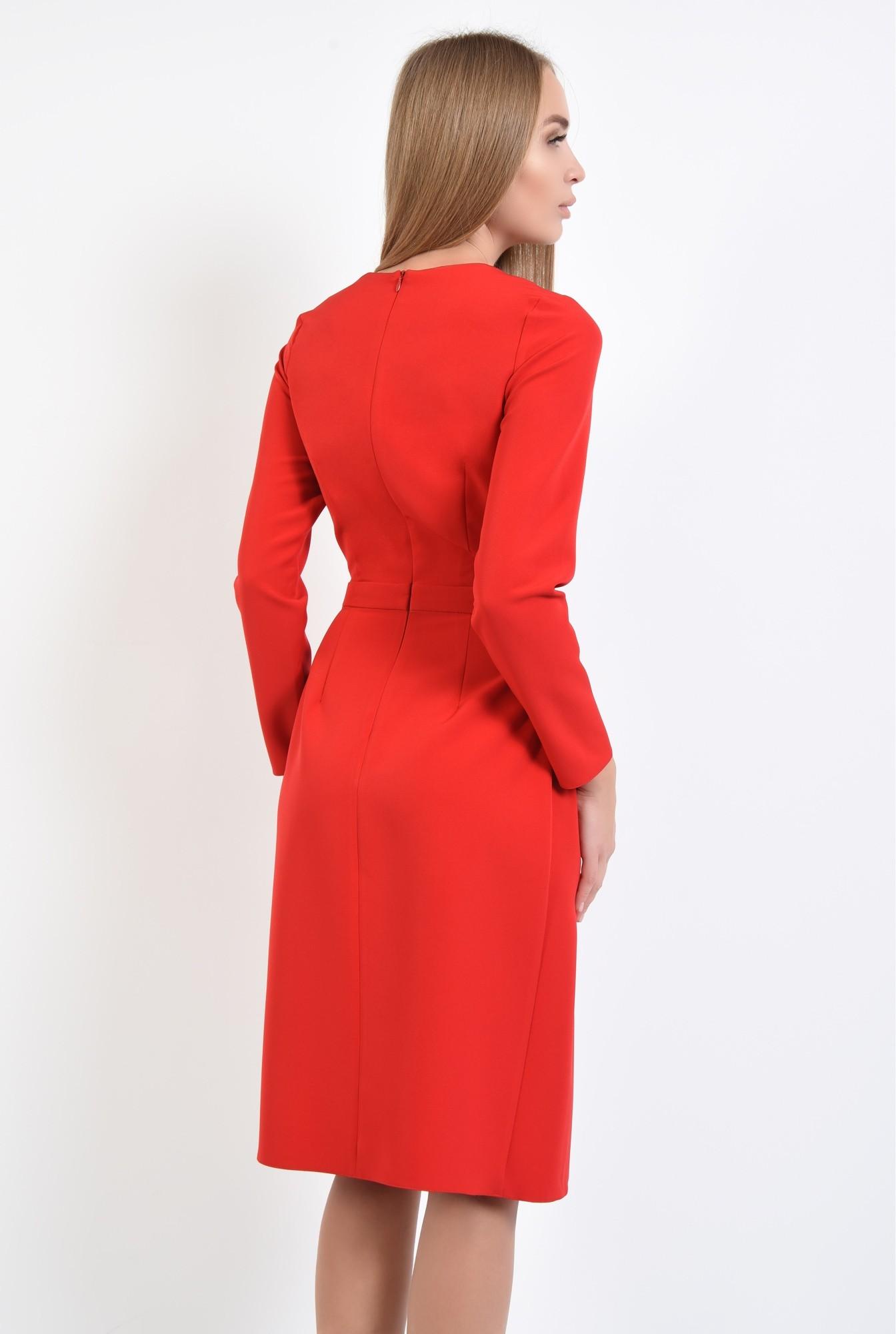 1 - rochii de dama online, betelie, croi evazat, inchidere cu fermoar