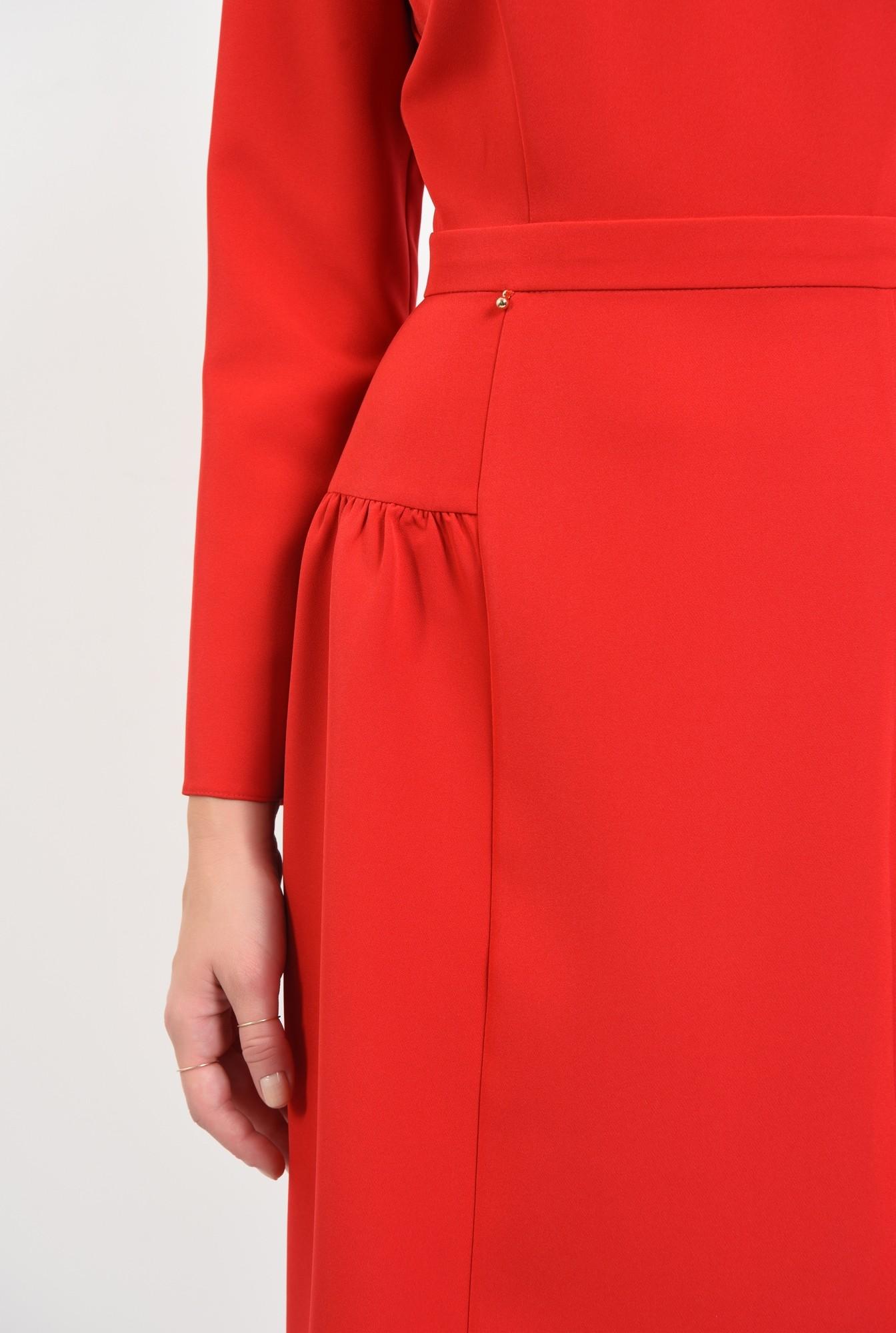 2 - rochii de dama online, betelie, croi evazat, inchidere cu fermoar