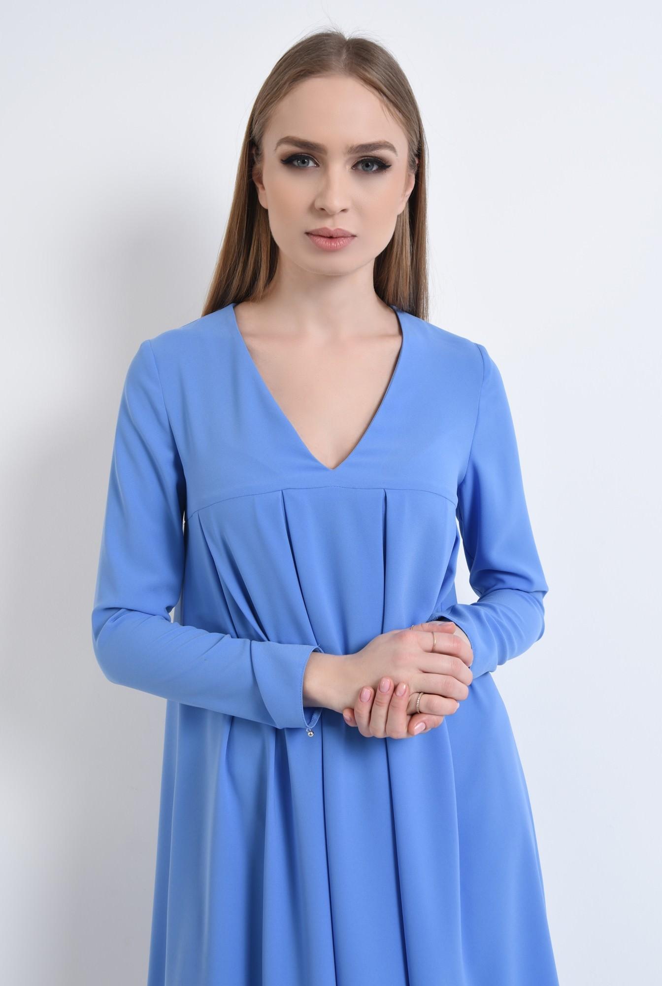 2 - Rochie casual, bleu