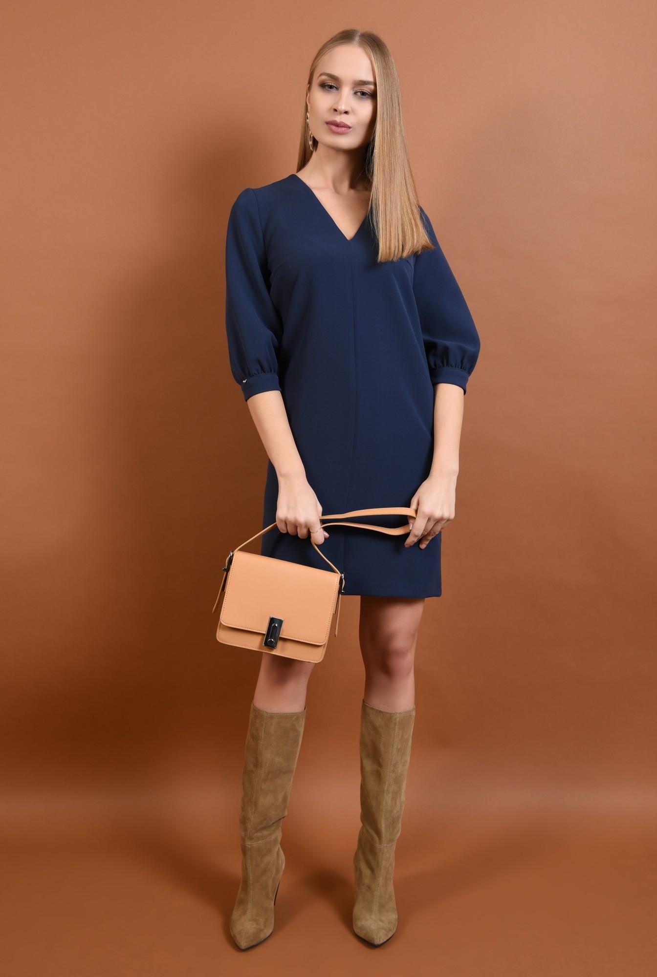 0 - rochie casual, scurta, decolteu, anchior, rochii de dama online
