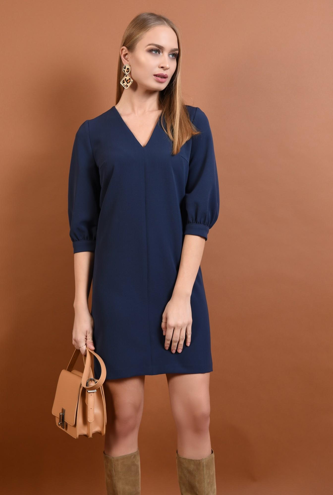 2 - rochie casual, scurta, decolteu, anchior, rochii de dama online