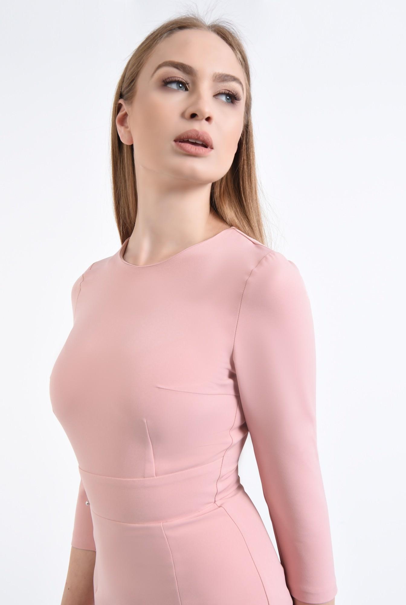 2 - Rochie de zi, roz
