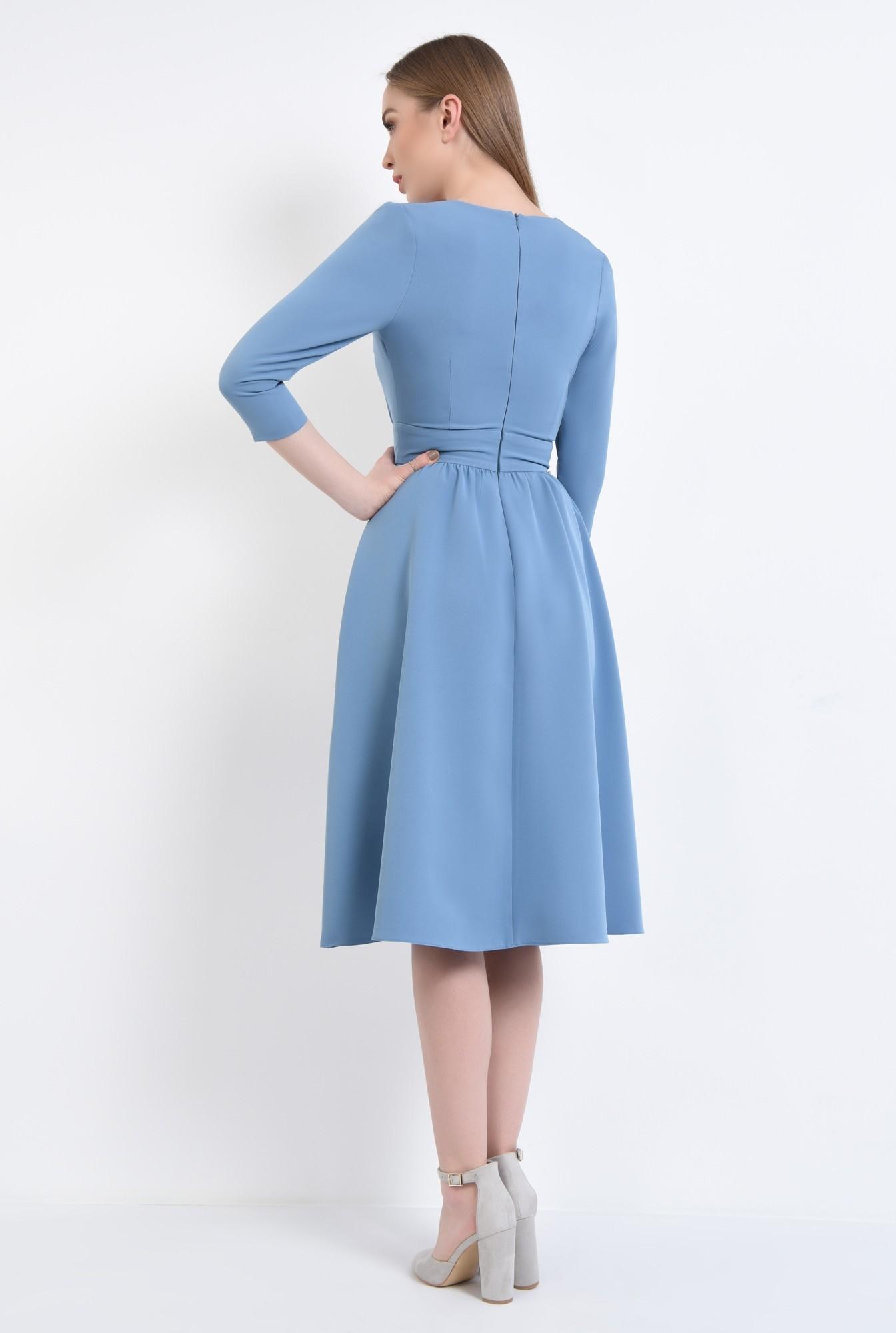 1 - 360 - Rochie de zi, bleu