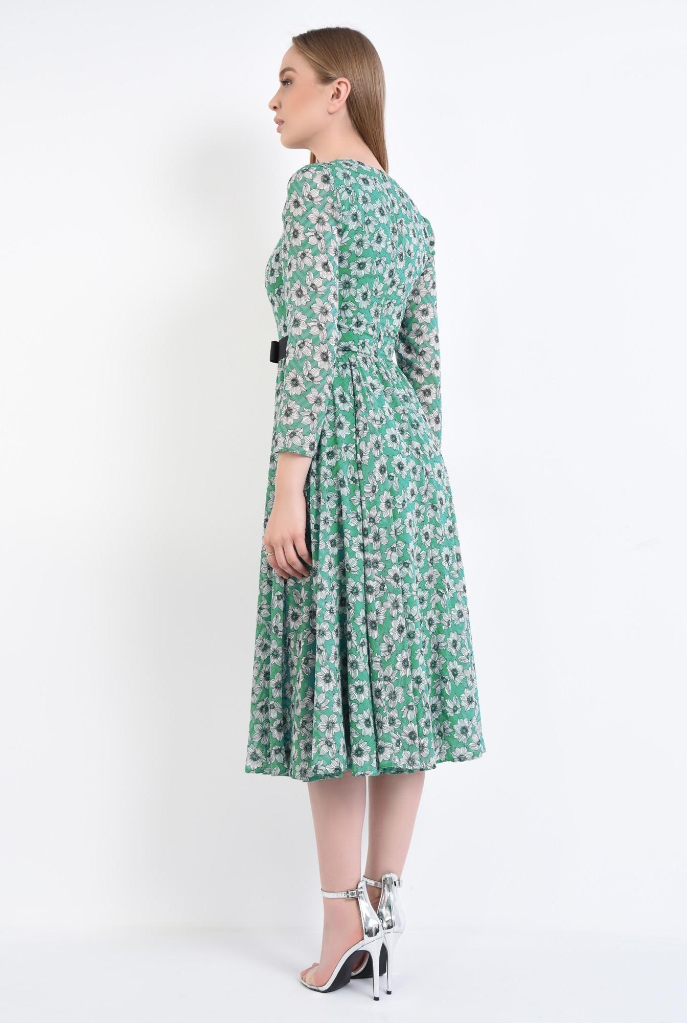 1 - Rochie eleganta, imprimeu