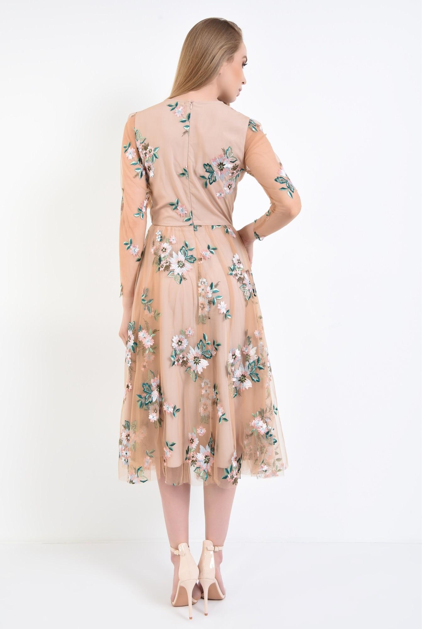 1 - Rochie eleganta maneci lungi
