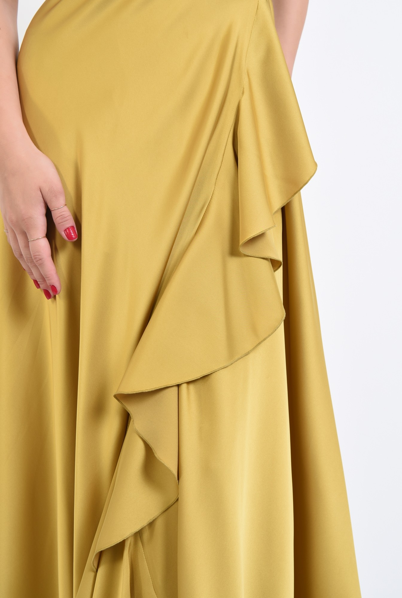 2 - rochie de seara, maxi, anchior, parte peste parte