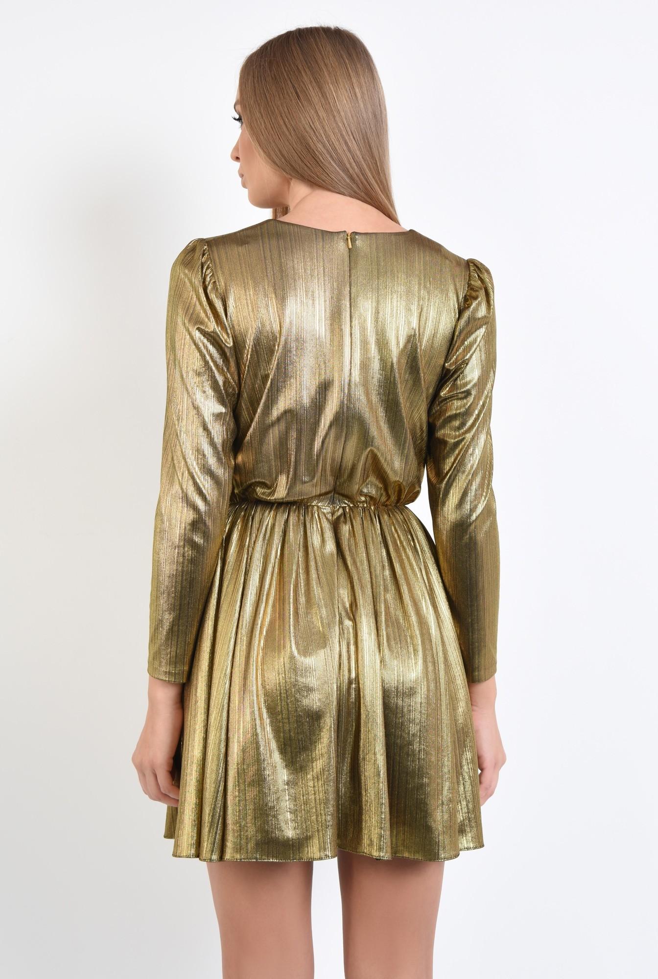 1 - rochie eleganta, din lurex, anchior, clos