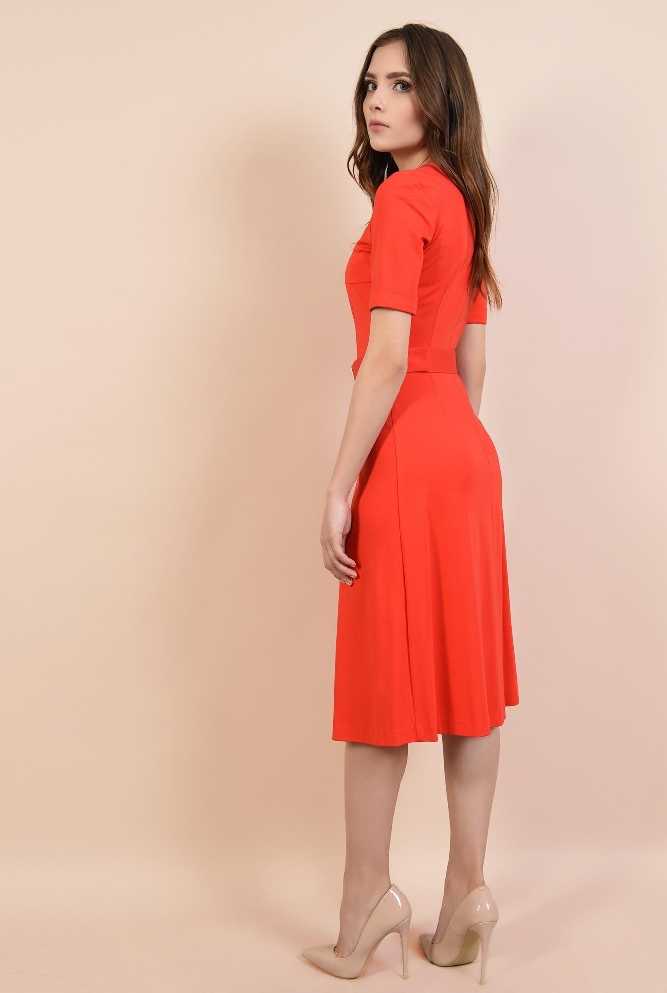 1 - rochie casual, cu anchior, cu cordon, crapeu in fata