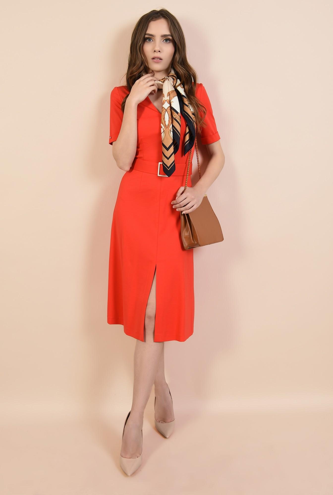 3 - rochie casual, cu anchior, cu cordon, crapeu in fata