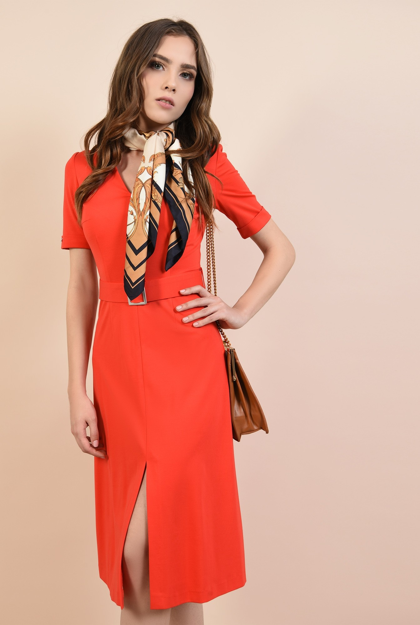0 - rochie casual, cu anchior, cu cordon, crapeu in fata