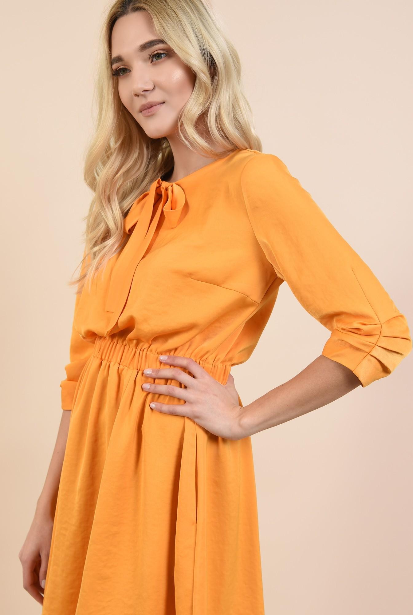 2 - rochii online, rochie mini, evazata, cu elastic la talie