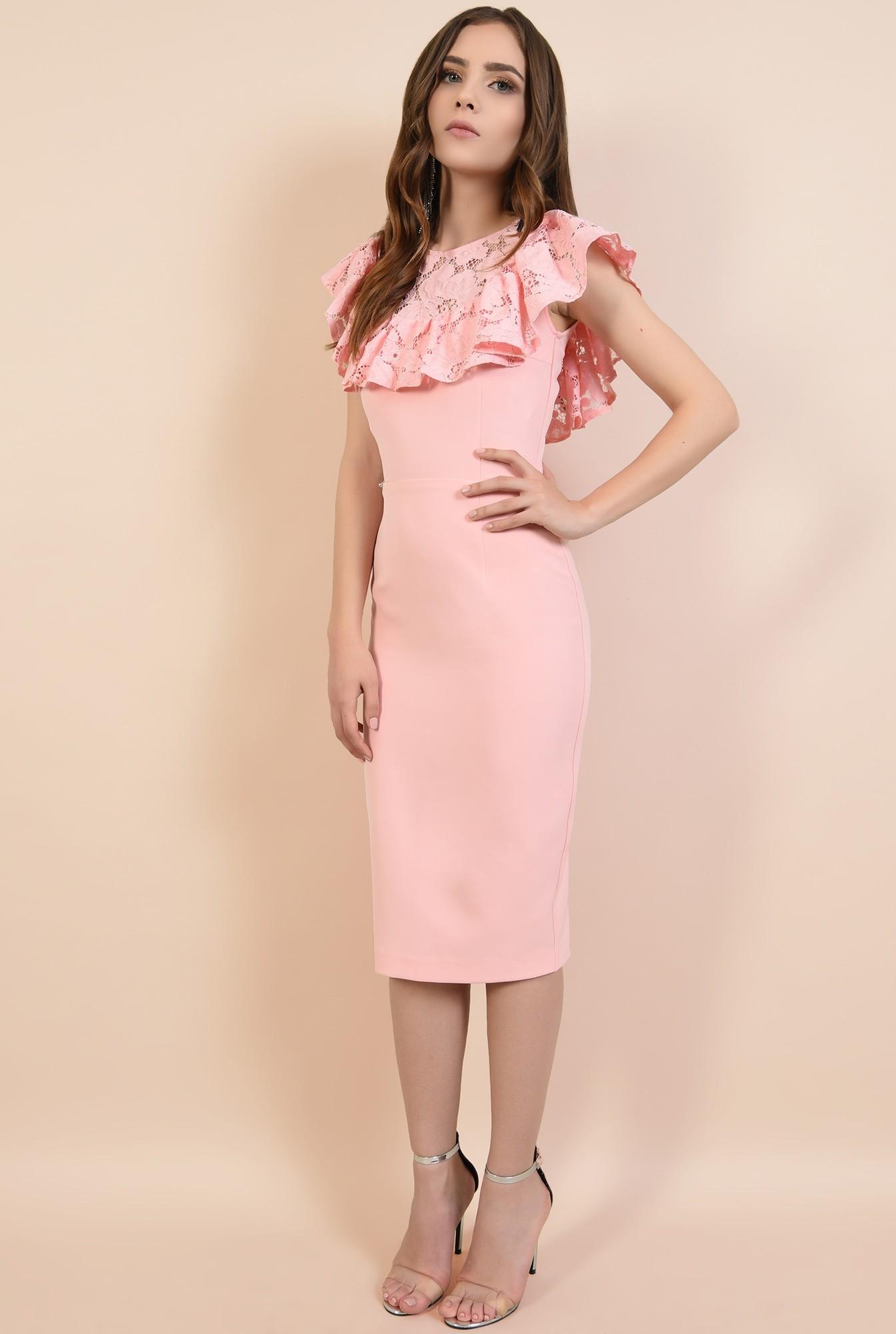 3 - rochii elegante, rochii online, Poema, dantela din bumbac