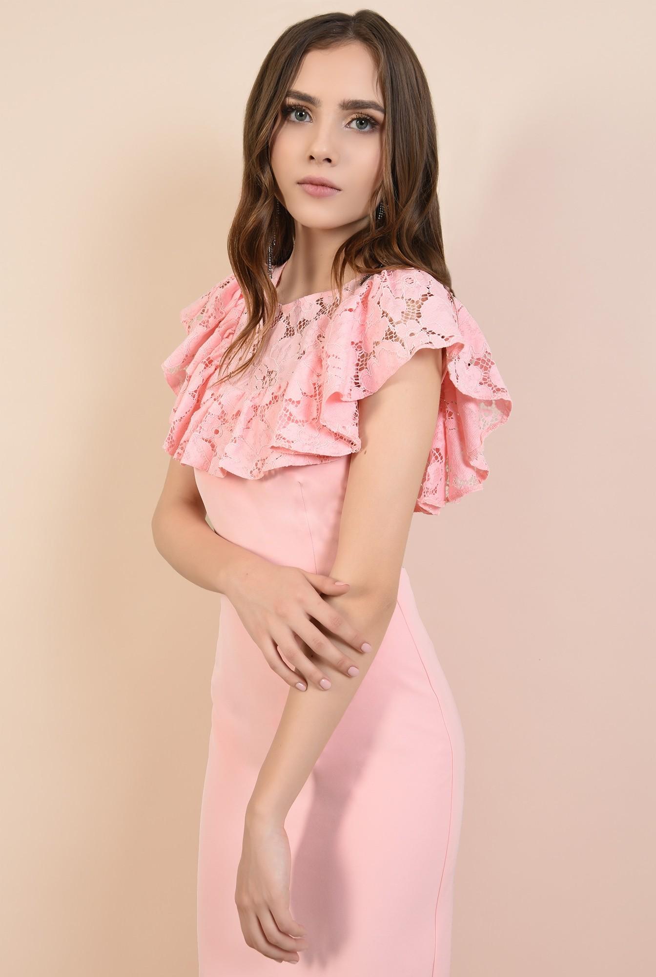 2 - rochii elegante, rochii online, Poema, dantela din bumbac