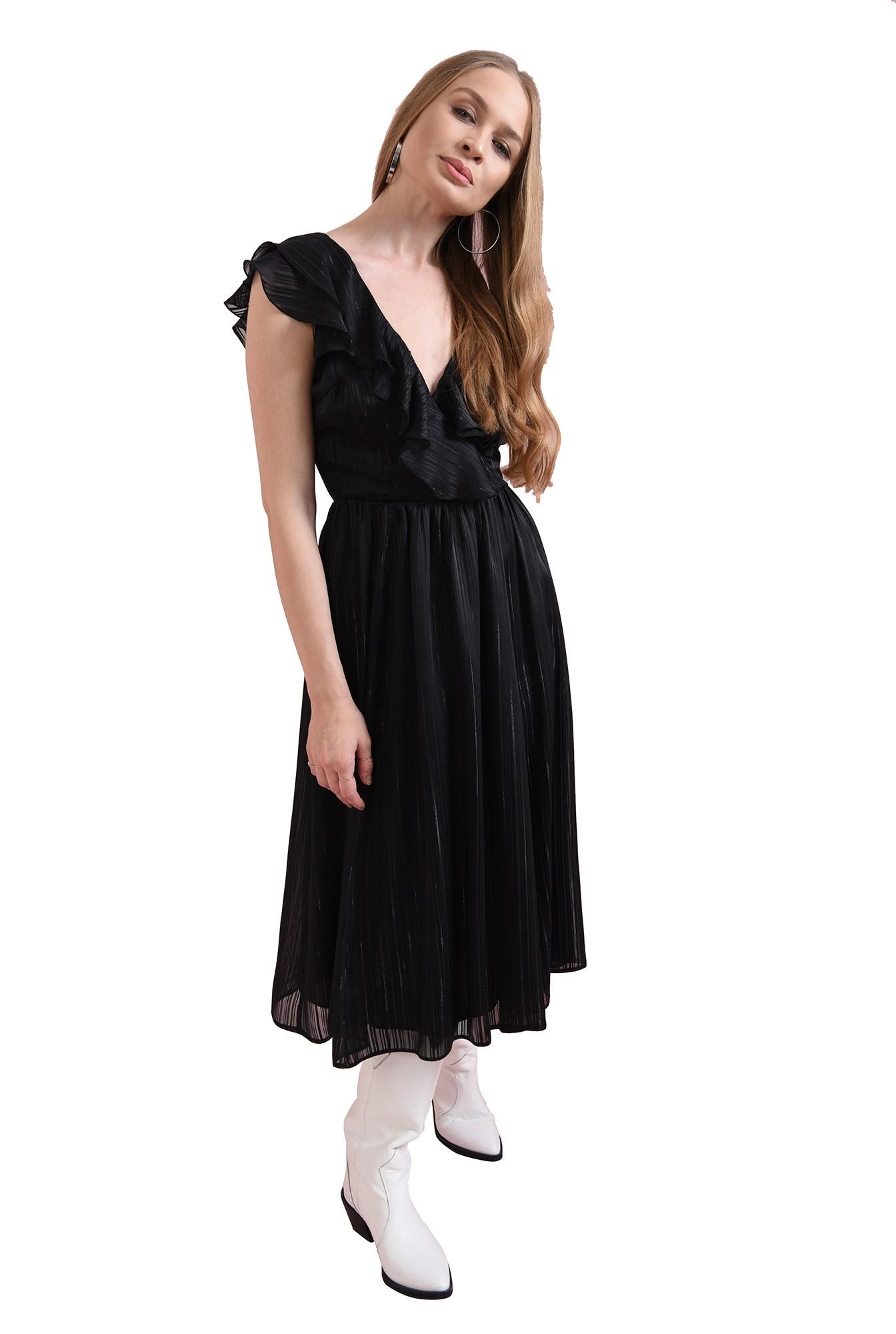 3 - rochie evazata, neagra, Poema
