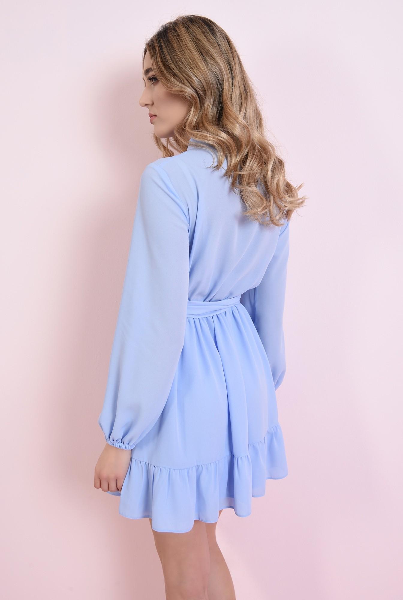 1 - rochie bleu, cu cordon, Poema