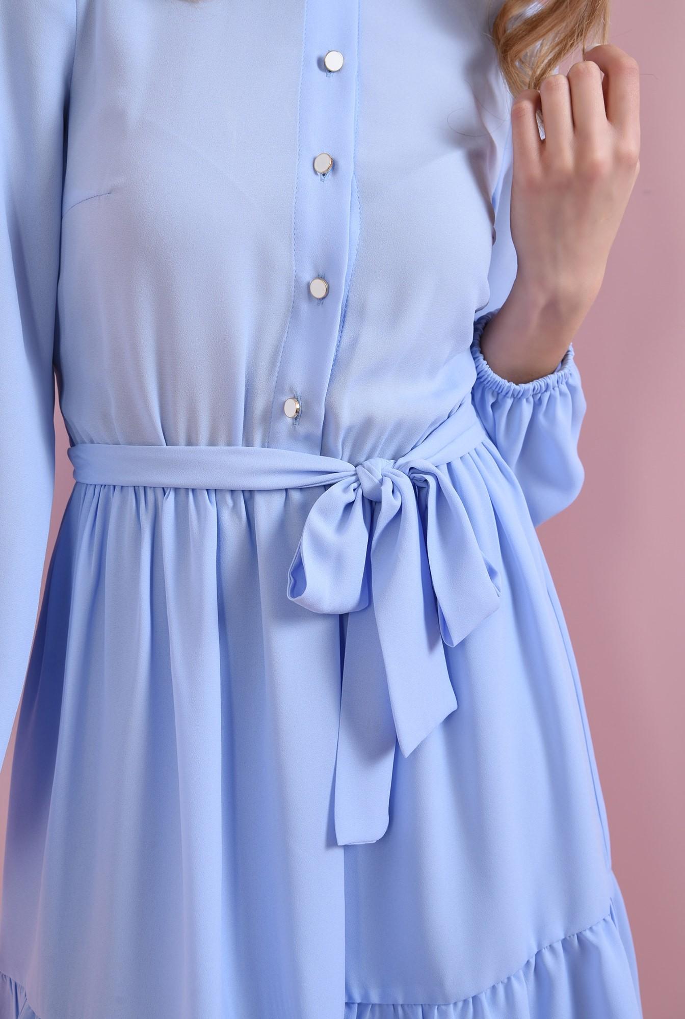 2 - rochie bleu, cu cordon, Poema