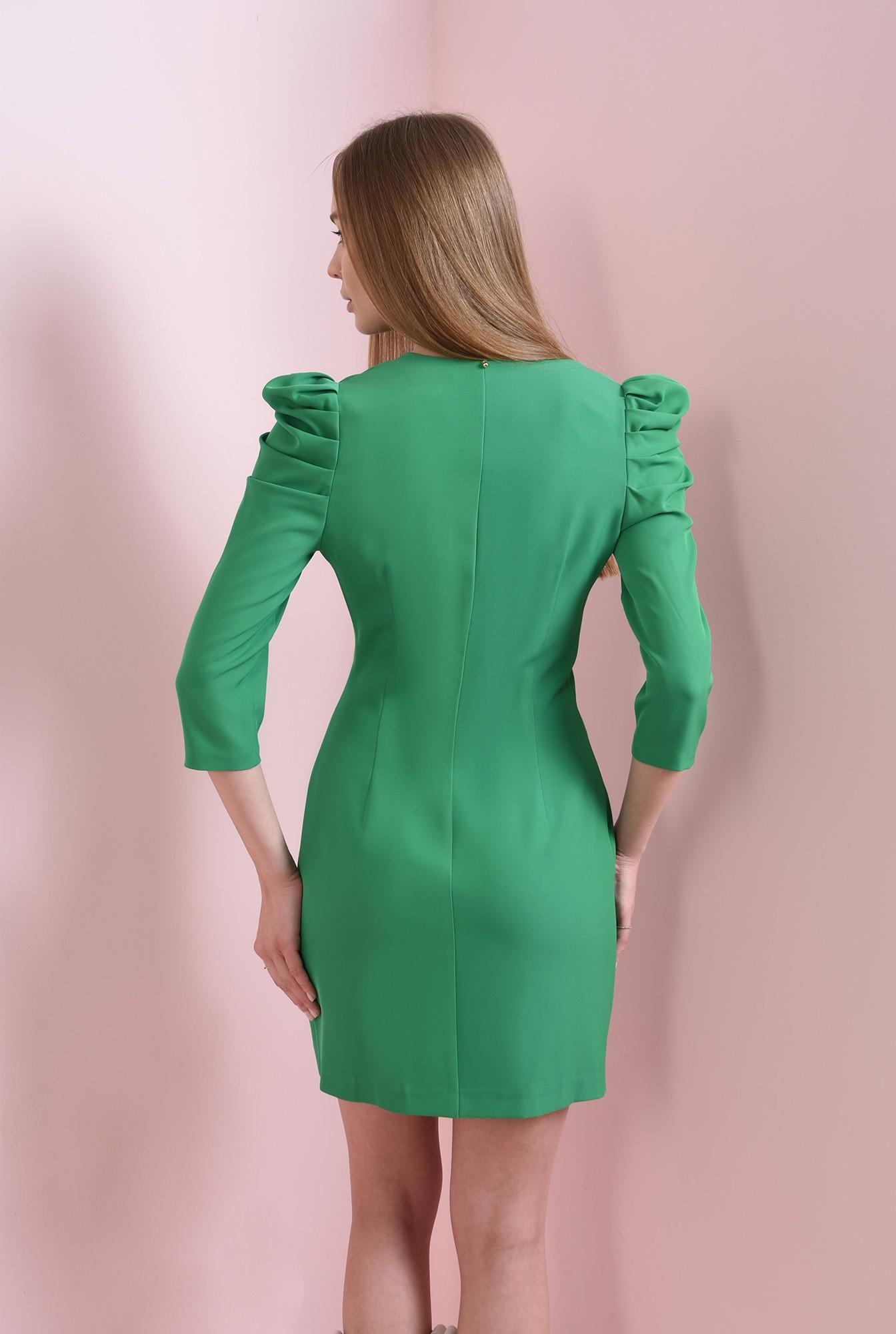 1 - rochie scurta, verde, Poema
