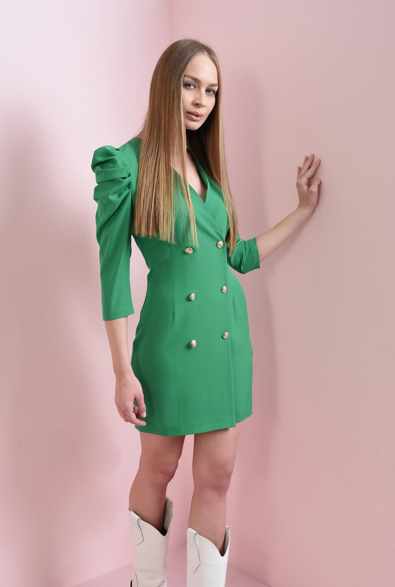 0 - rochie scurta, verde, Poema