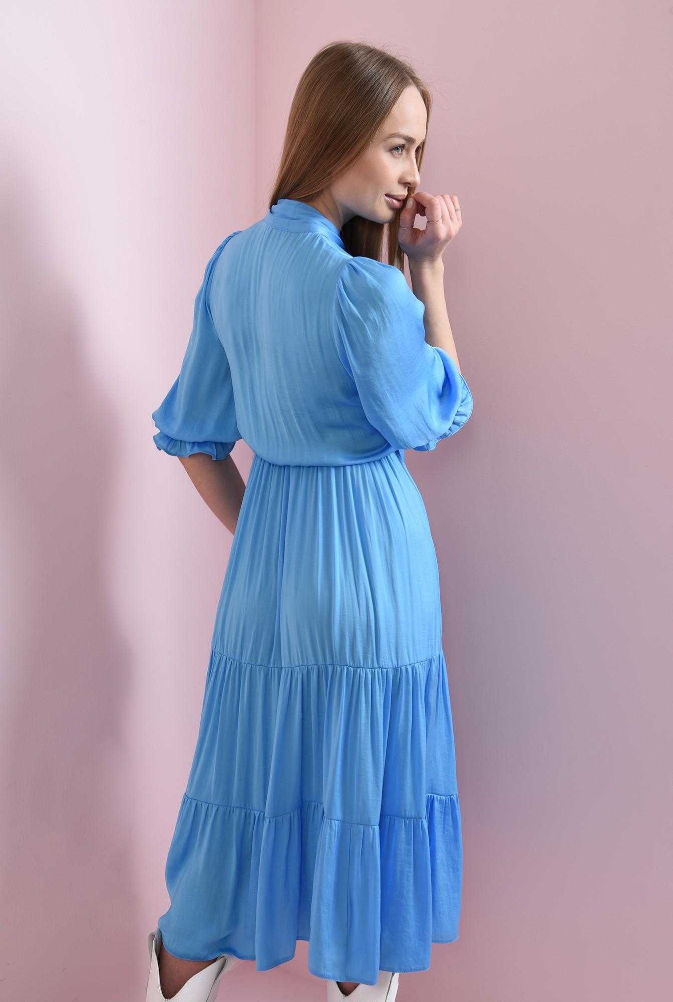 1 - rochie evazata, bleu, Poema