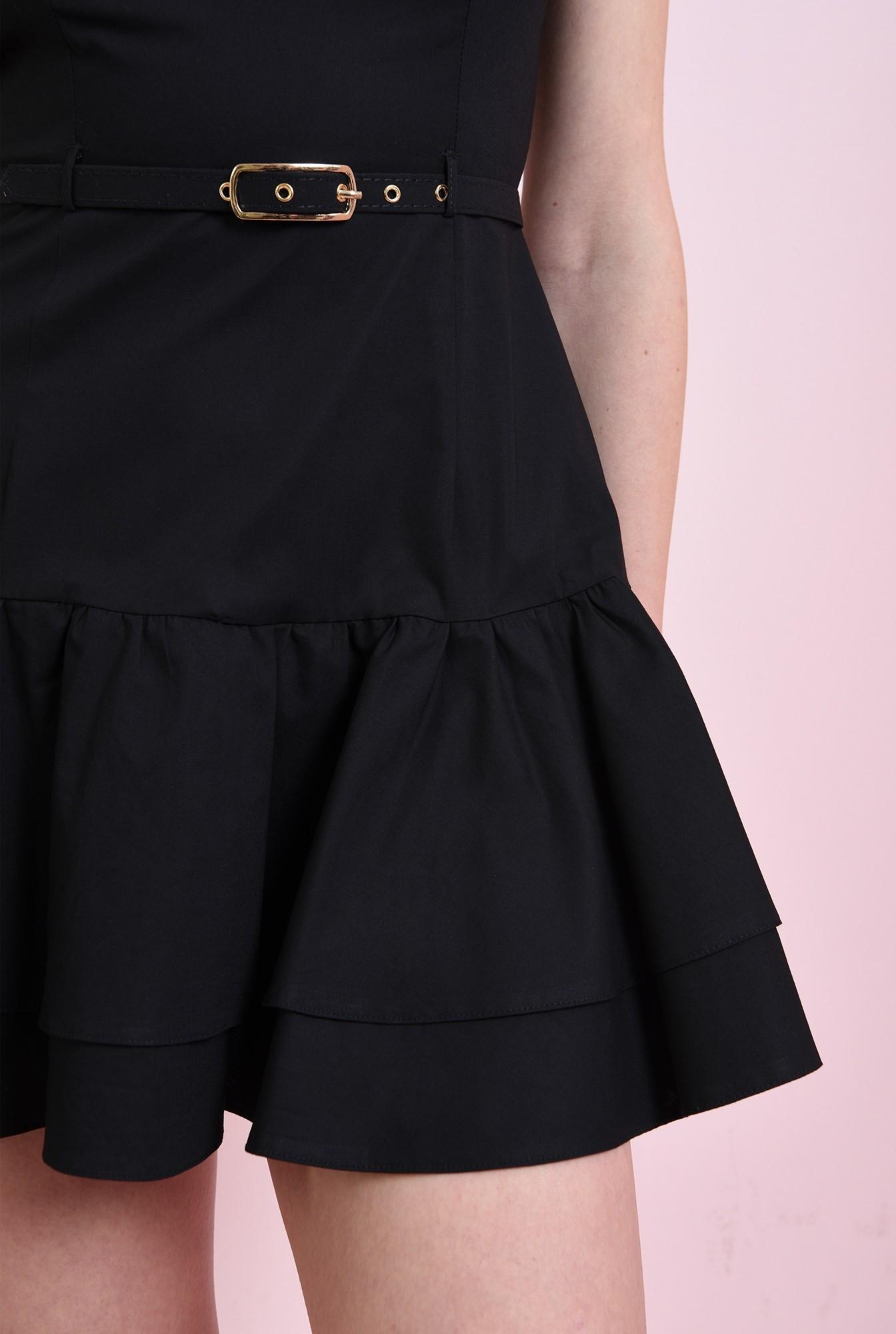 2 - rochie neagra, cu volane, Poema
